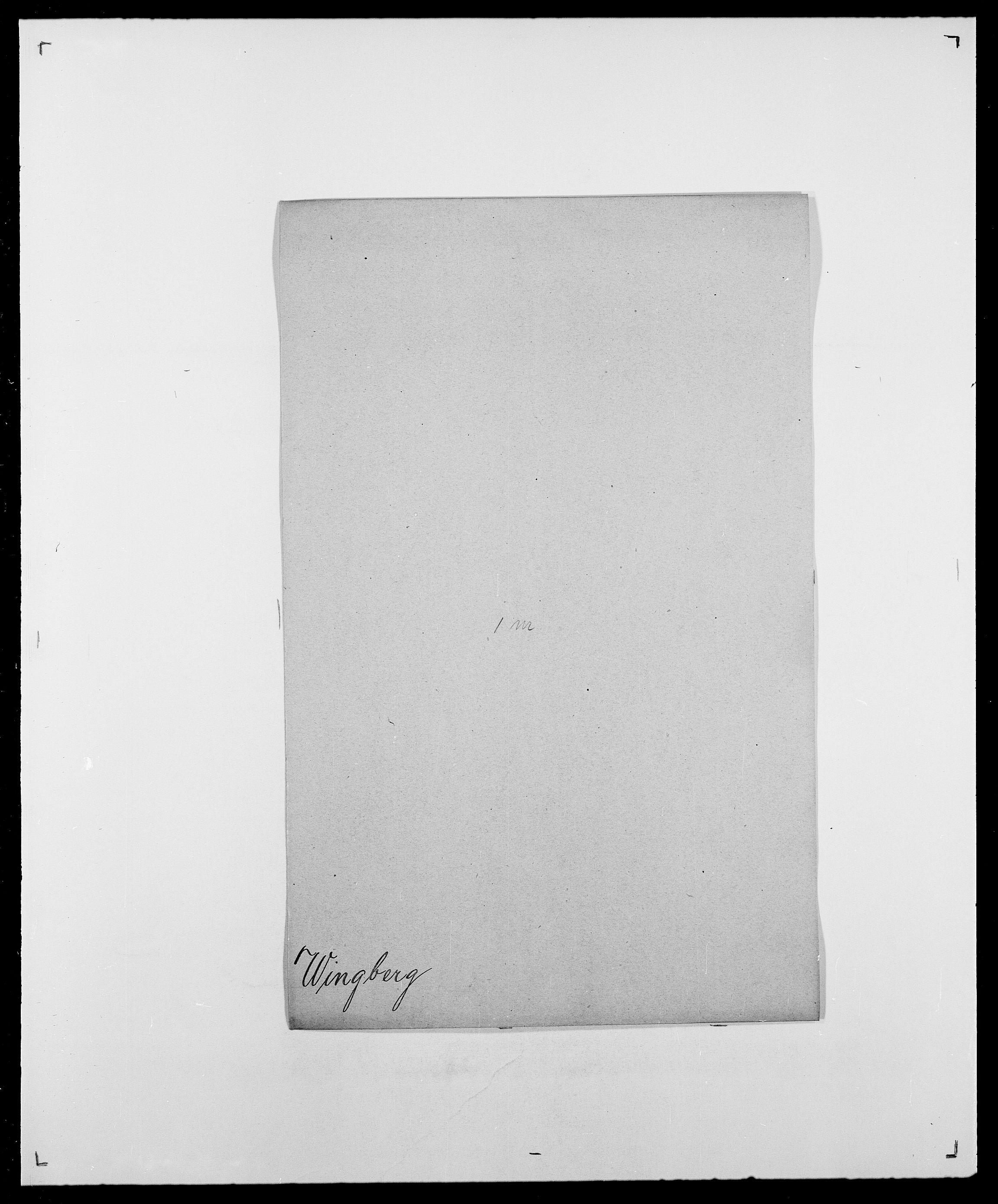 SAO, Delgobe, Charles Antoine - samling, D/Da/L0042: Vilain - Wulf, Wulff, se også Wolf, s. 189