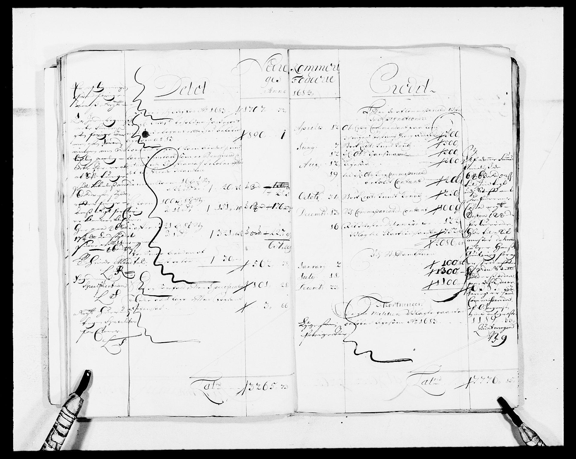 RA, Rentekammeret inntil 1814, Reviderte regnskaper, Fogderegnskap, R11/L0573: Fogderegnskap Nedre Romerike, 1679-1688, s. 164