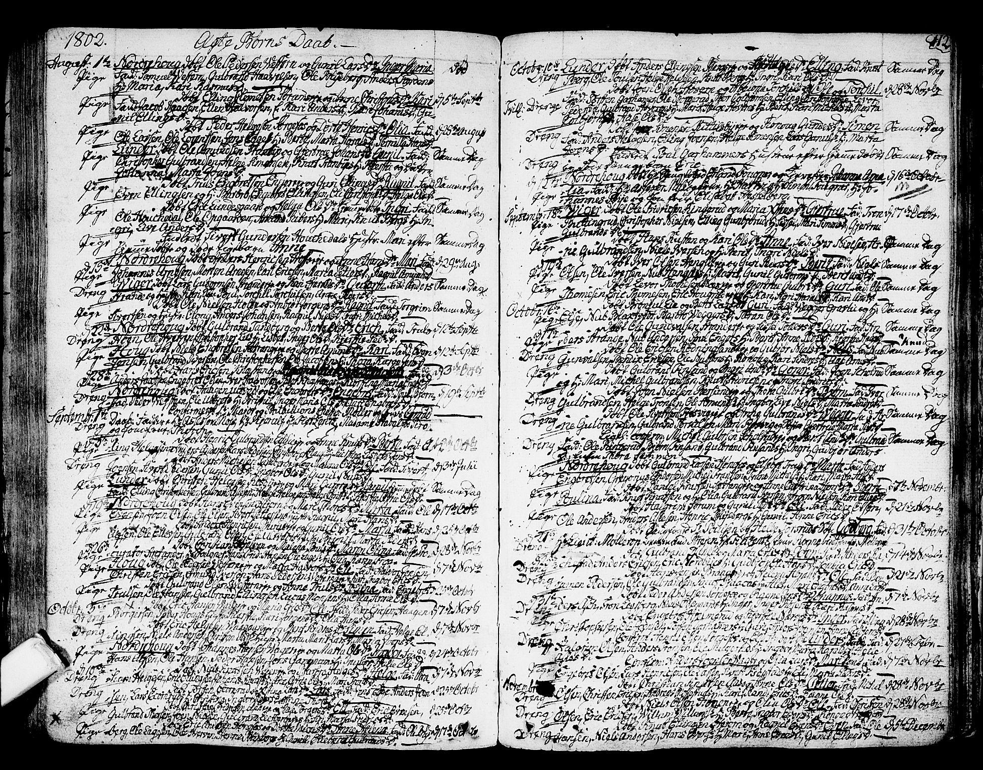 SAKO, Norderhov kirkebøker, F/Fa/L0006: Ministerialbok nr. 6, 1789-1811, s. 112