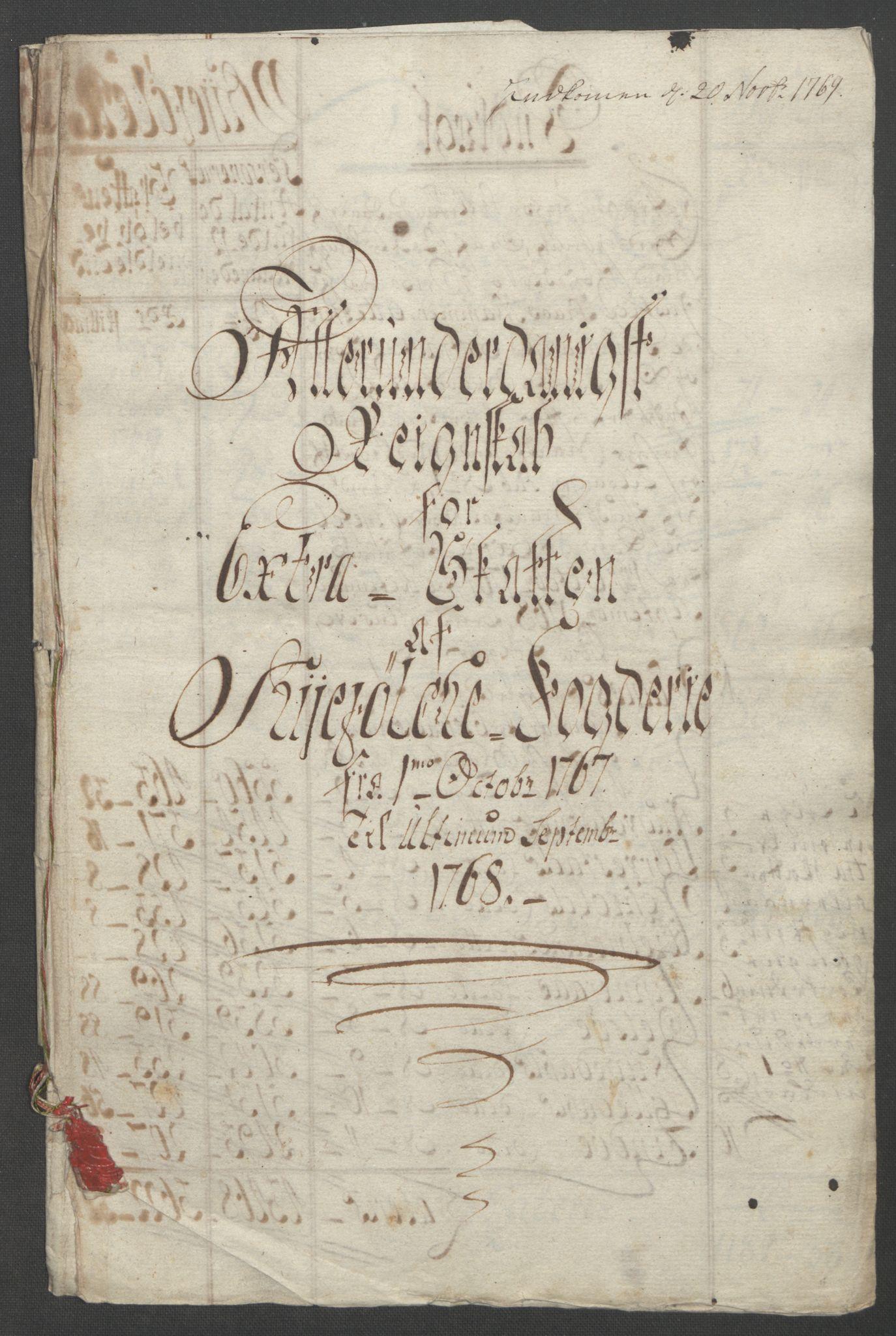 RA, Rentekammeret inntil 1814, Reviderte regnskaper, Fogderegnskap, R47/L2972: Ekstraskatten Ryfylke, 1762-1780, s. 89