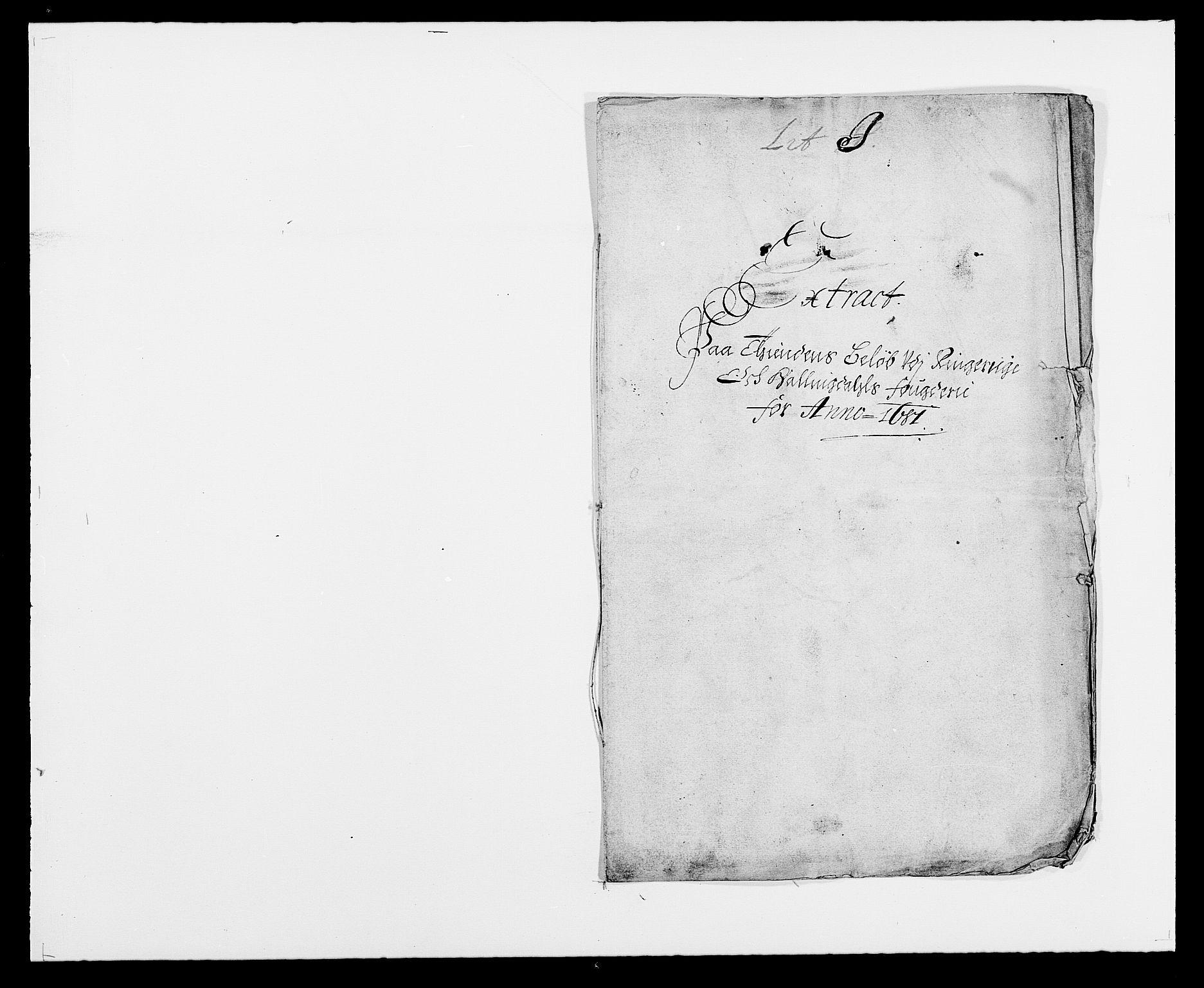 RA, Rentekammeret inntil 1814, Reviderte regnskaper, Fogderegnskap, R21/L1445: Fogderegnskap Ringerike og Hallingdal, 1681-1689, s. 203