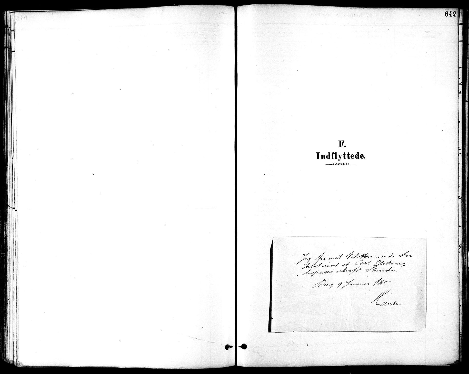 SAT, Ministerialprotokoller, klokkerbøker og fødselsregistre - Sør-Trøndelag, 601/L0058: Ministerialbok nr. 601A26, 1877-1891, s. 642
