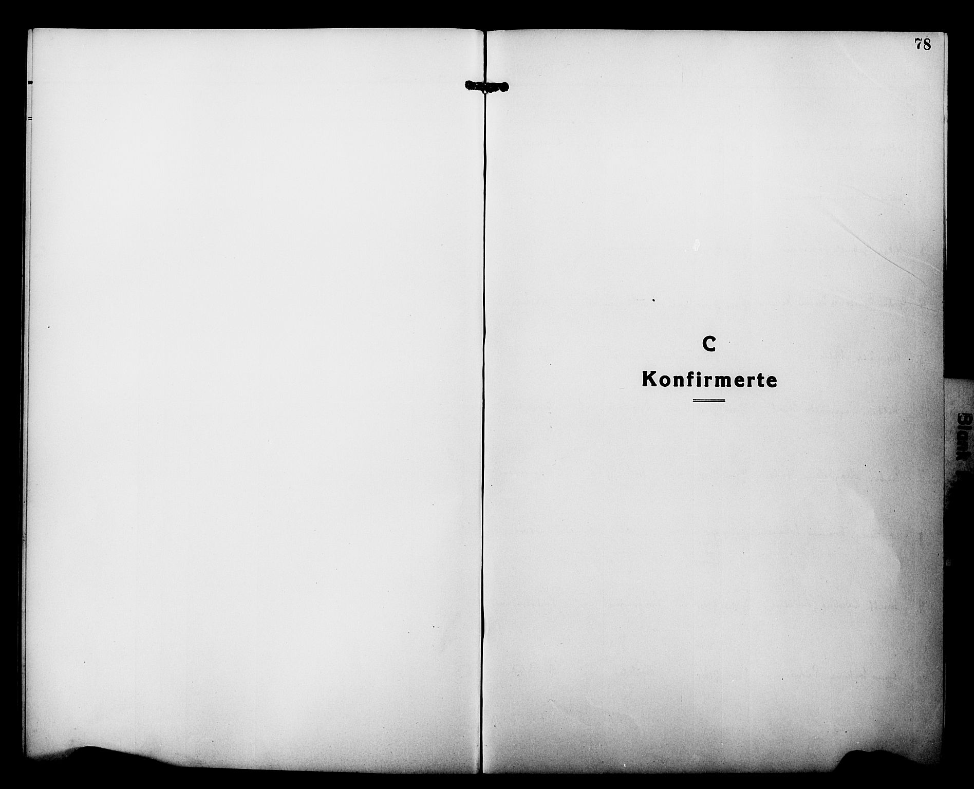 SATØ, Tranøy sokneprestkontor, I/Ia/Iab/L0015klokker: Klokkerbok nr. 15, 1918-1930, s. 78