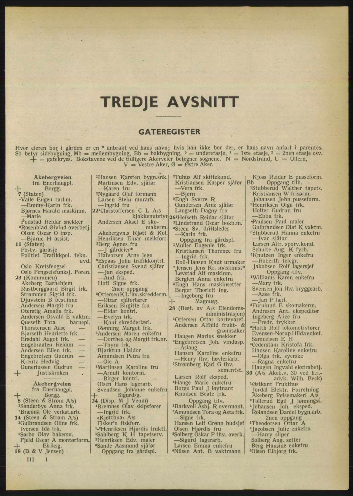 PUBL, Kristiania/Oslo adressebok, 1950, s. 1701