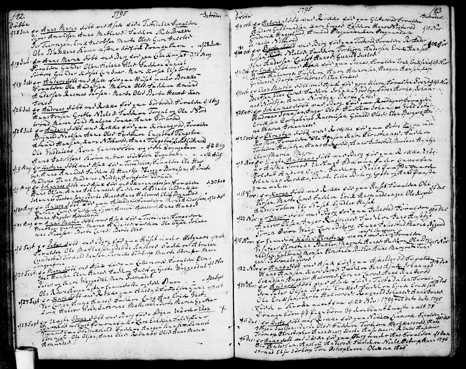 SAO, Berg prestekontor Kirkebøker, F/Fa/L0001: Ministerialbok nr. I 1, 1770-1814, s. 142-143