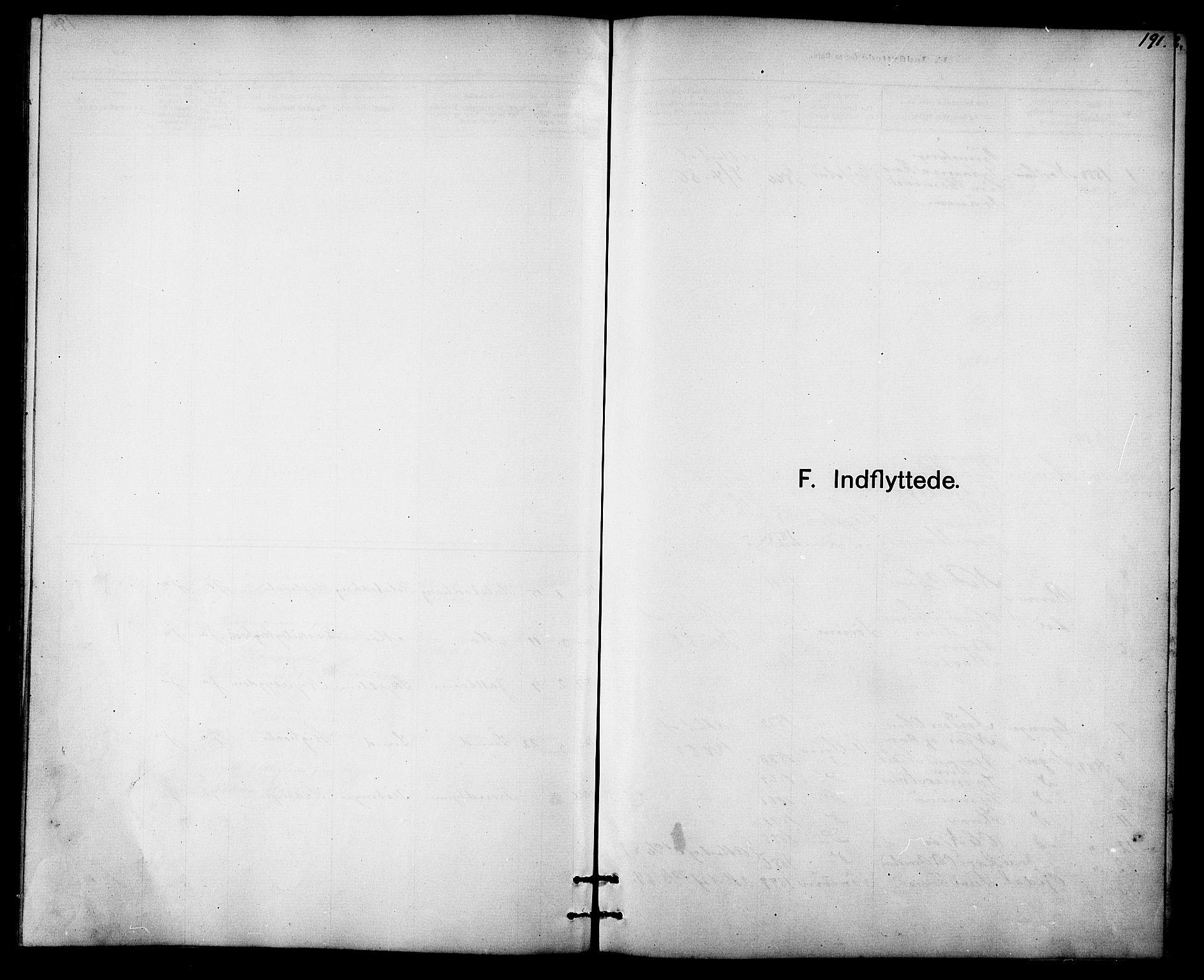 SAT, Ministerialprotokoller, klokkerbøker og fødselsregistre - Sør-Trøndelag, 613/L0395: Klokkerbok nr. 613C03, 1887-1909, s. 191