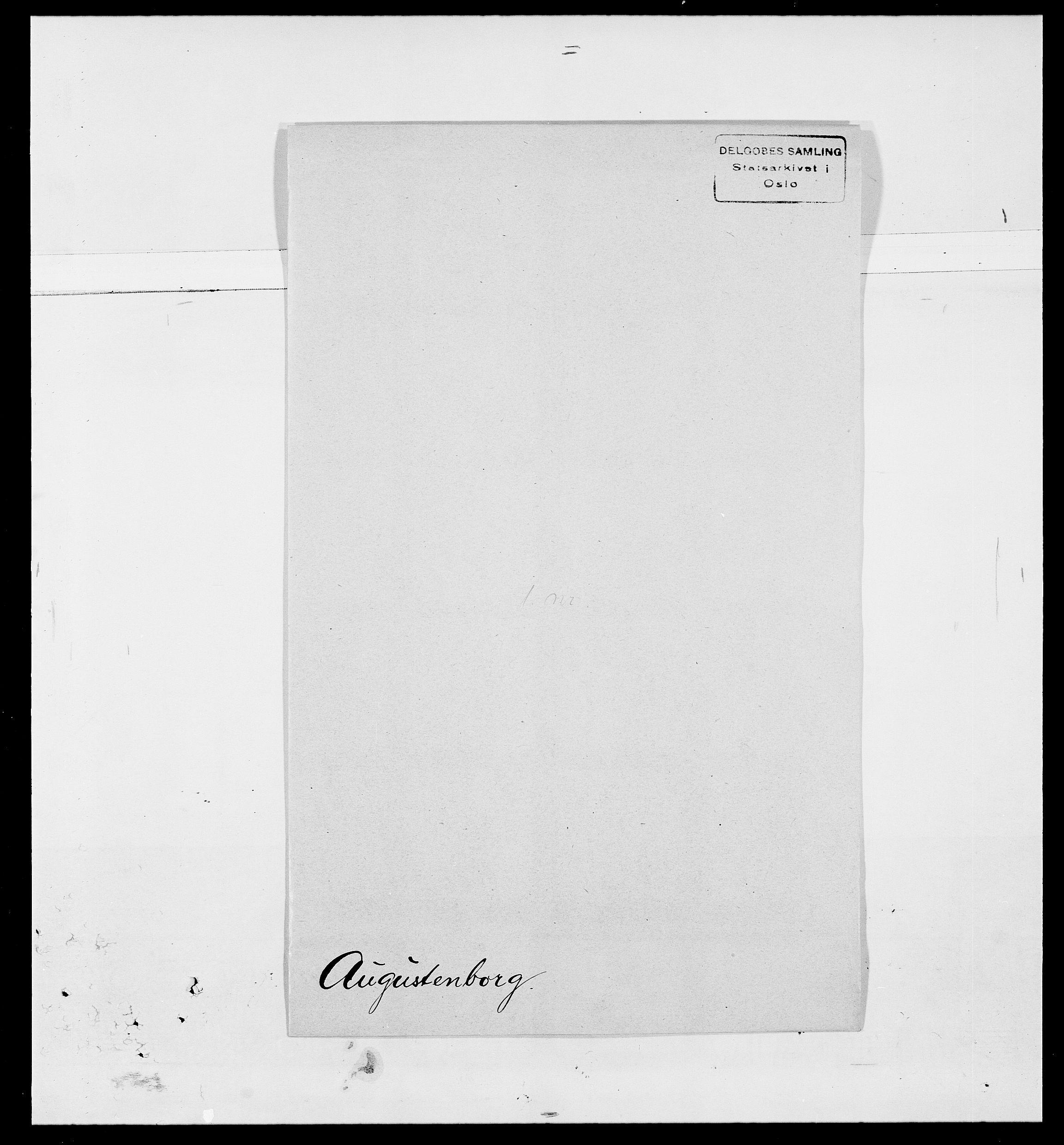 SAO, Delgobe, Charles Antoine - samling, D/Da/L0002: Anker, Ancher - Bauner, s. 509