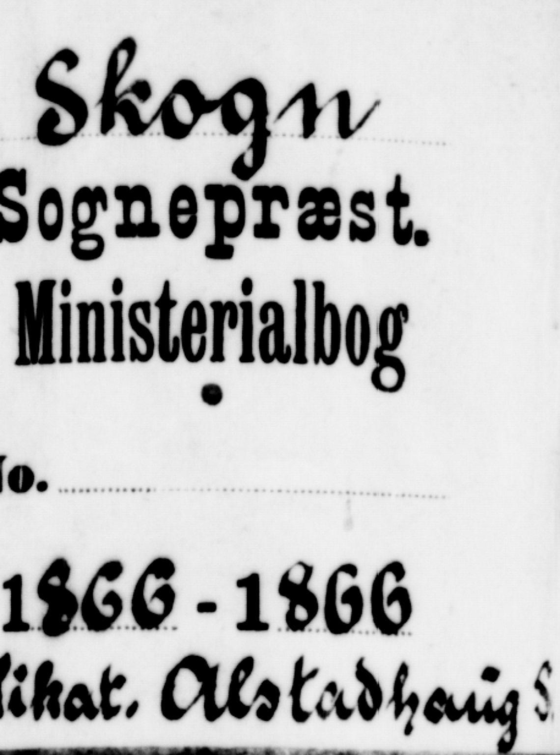 SAT, Ministerialprotokoller, klokkerbøker og fødselsregistre - Nord-Trøndelag, 717/L0170: Klokkerbok nr. 717C02, 1866-1866