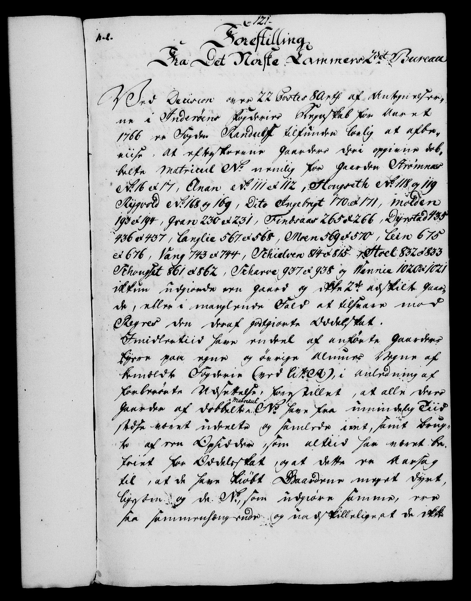 RA, Rentekammeret, Kammerkanselliet, G/Gf/Gfa/L0054: Norsk relasjons- og resolusjonsprotokoll (merket RK 52.54), 1771-1772, s. 674