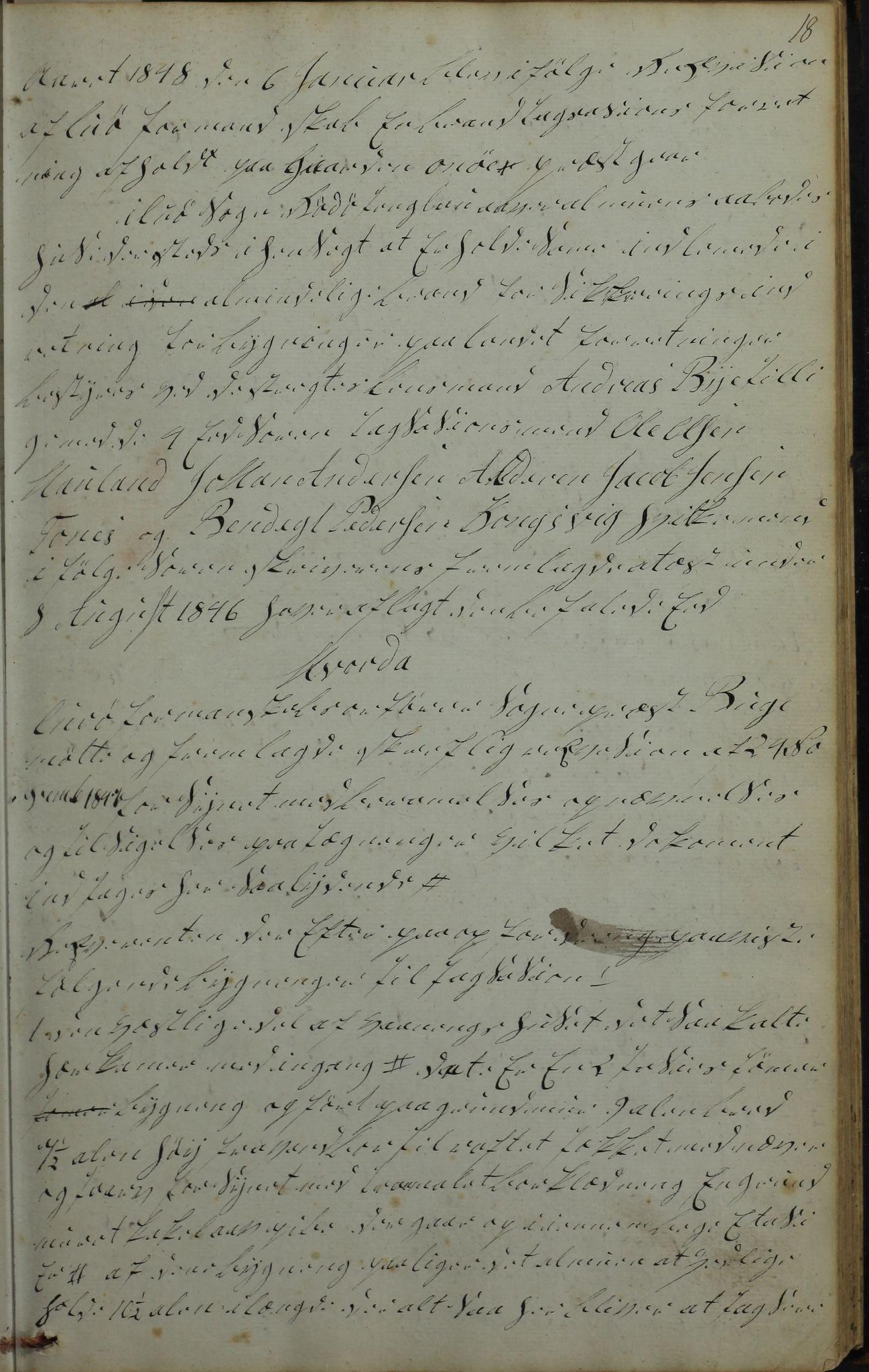 AIN, Lurøy kommune. Formannskapet, 100/L0001: Møtebok, 1836-1898, s. 18