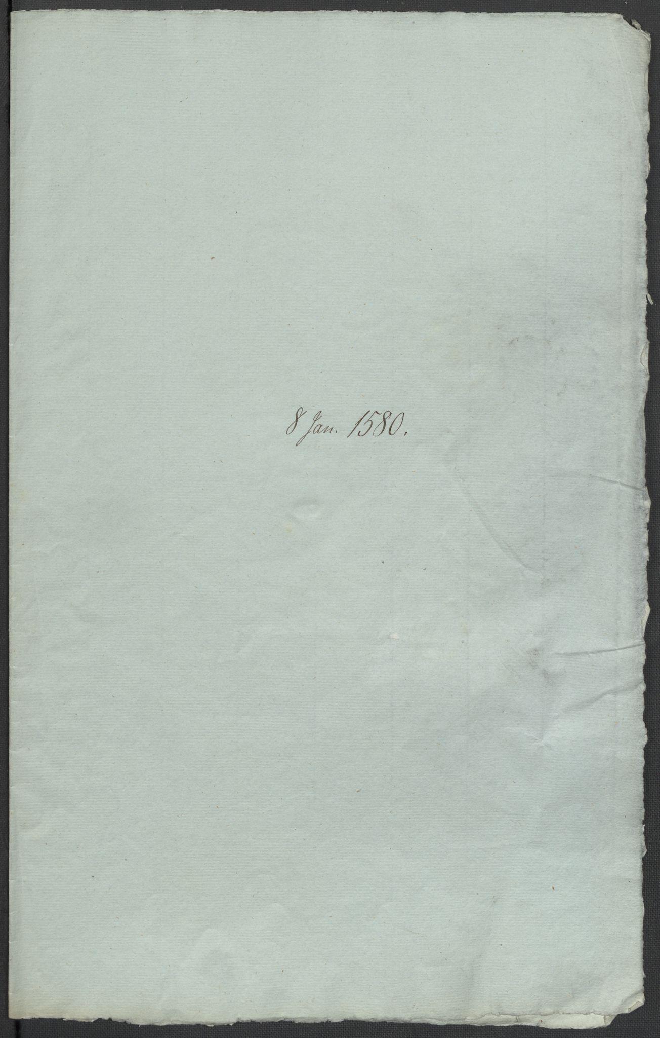 RA, Riksarkivets diplomsamling, F02/L0082: Dokumenter, 1580, s. 6