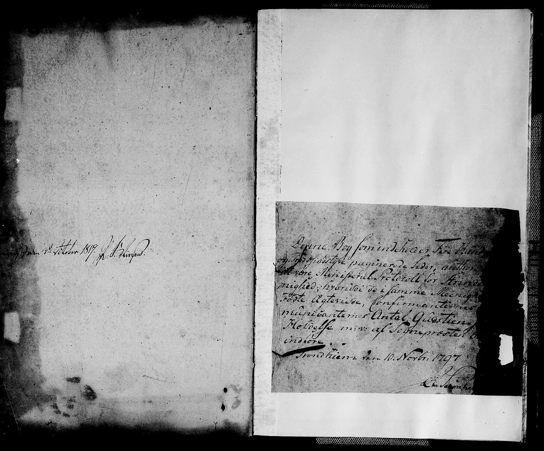 SAT, Ministerialprotokoller, klokkerbøker og fødselsregistre - Sør-Trøndelag, 604/L0181: Ministerialbok nr. 604A02, 1798-1817