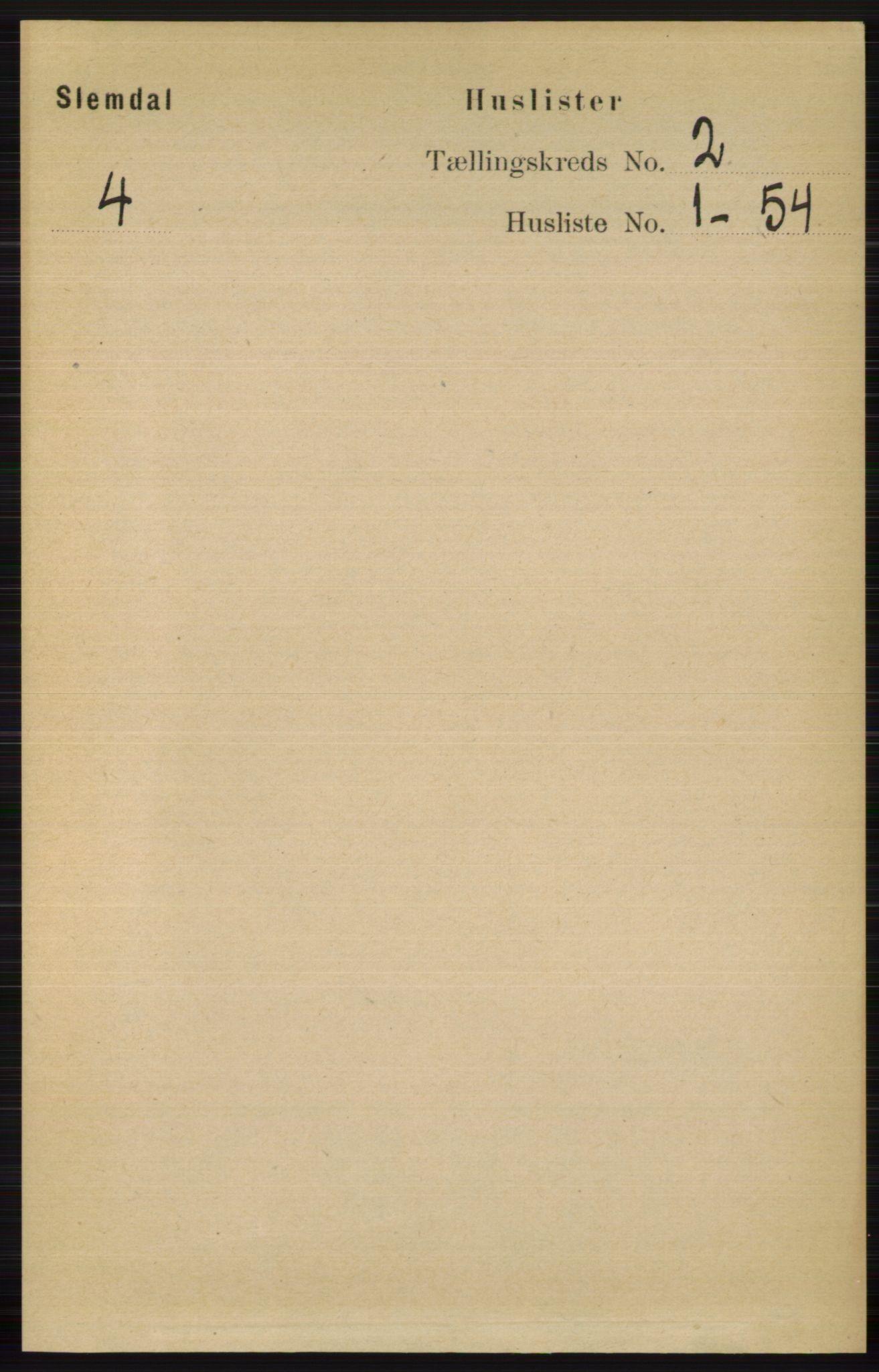 RA, Folketelling 1891 for 0811 Slemdal herred, 1891, s. 309