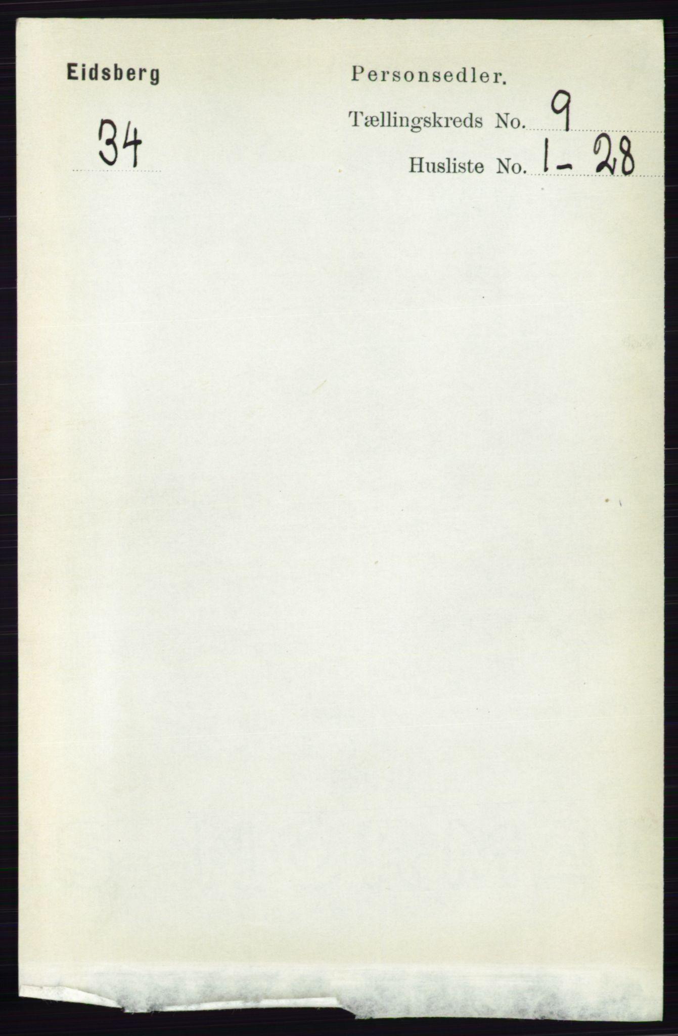RA, Folketelling 1891 for 0125 Eidsberg herred, 1891, s. 5163