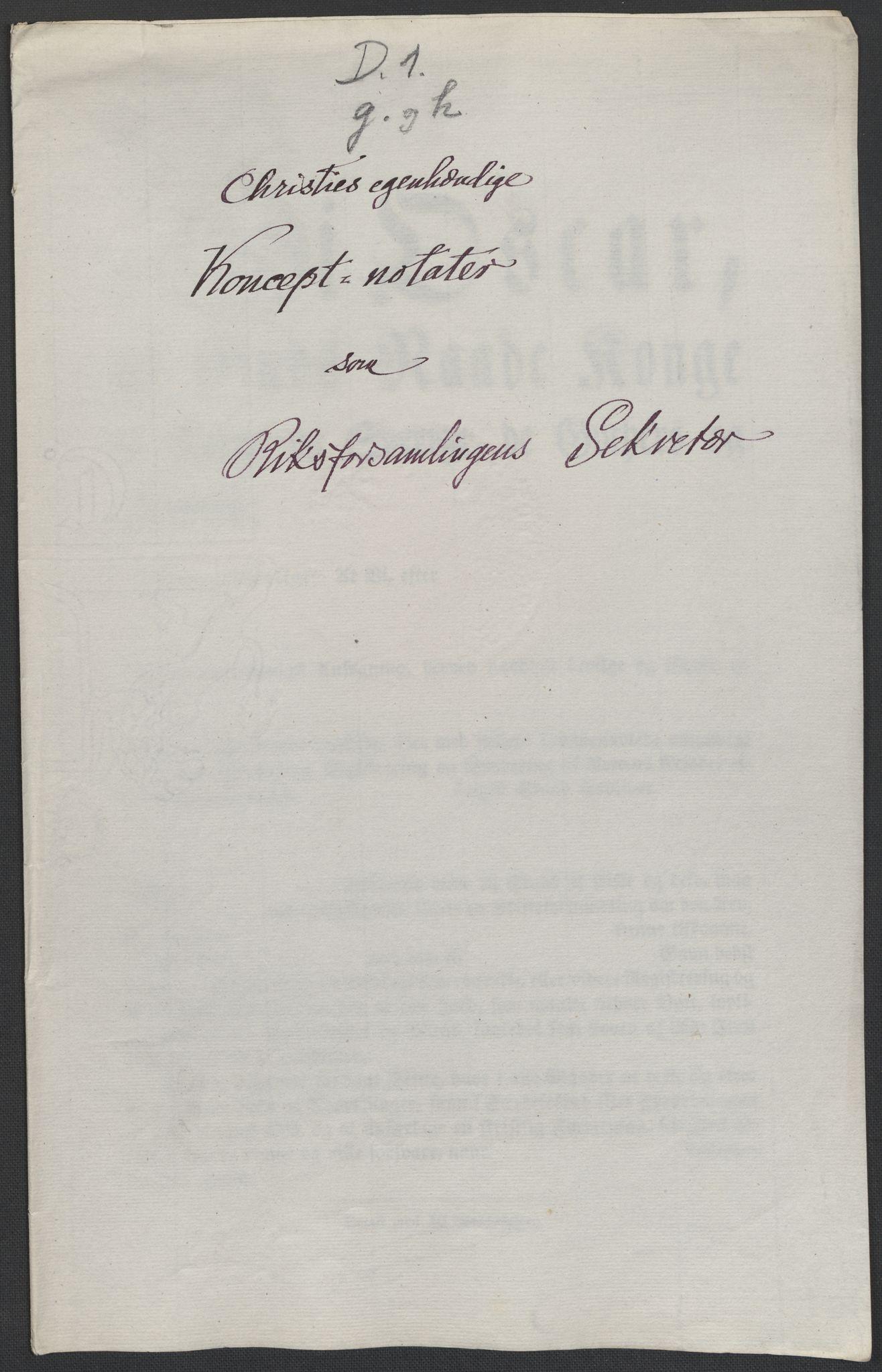 RA, Christie, Wilhelm Frimann Koren, F/L0004, 1814, s. 128