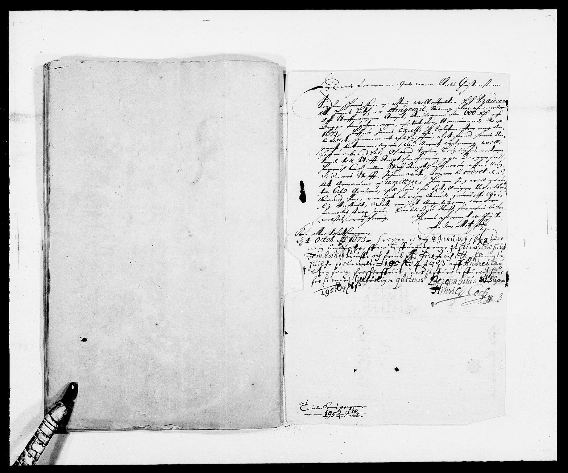 RA, Rentekammeret inntil 1814, Reviderte regnskaper, Fogderegnskap, R47/L2844: Fogderegnskap Ryfylke, 1672-1673, s. 255