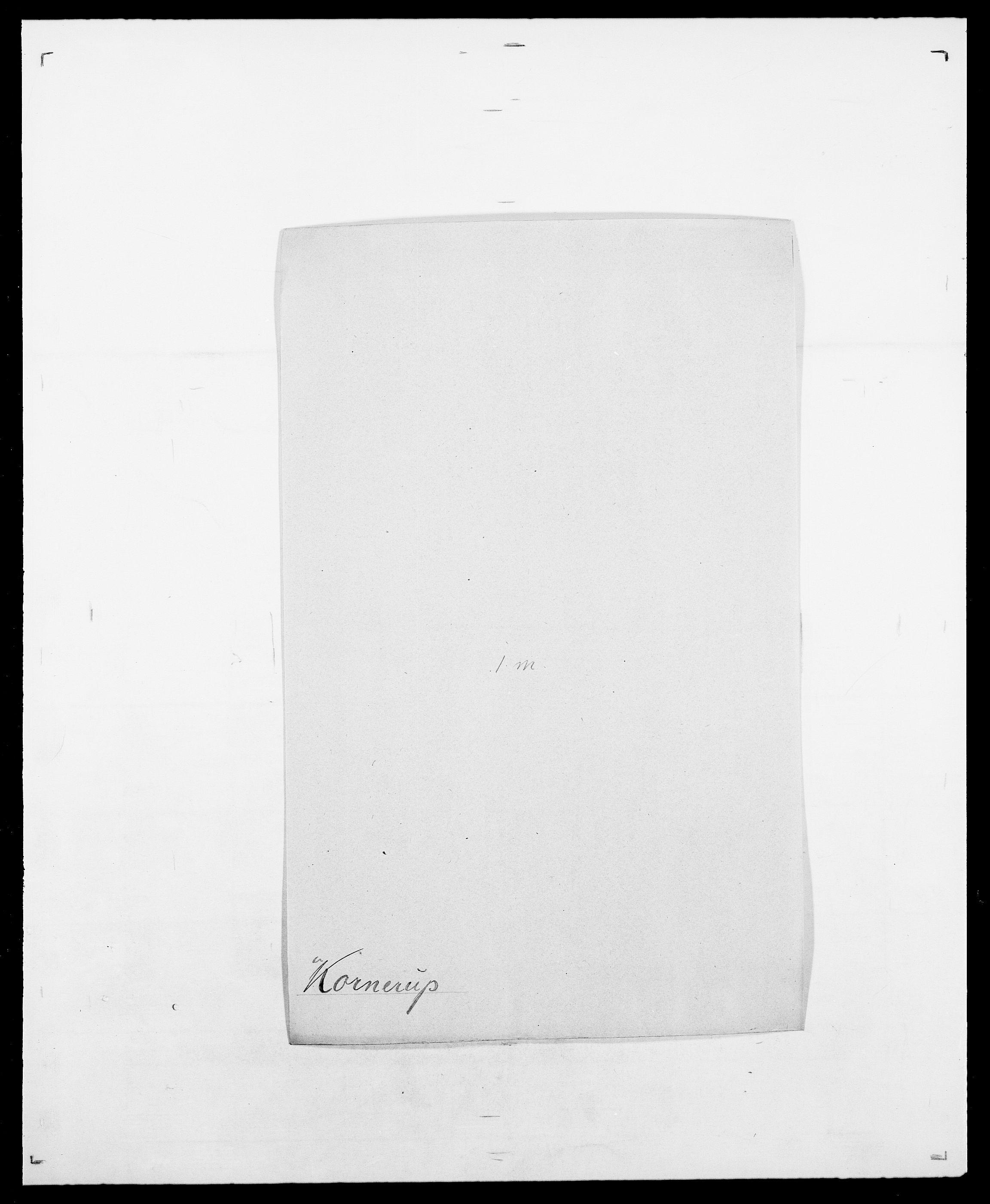SAO, Delgobe, Charles Antoine - samling, D/Da/L0021: Klagenberg - Kristoft, s. 575