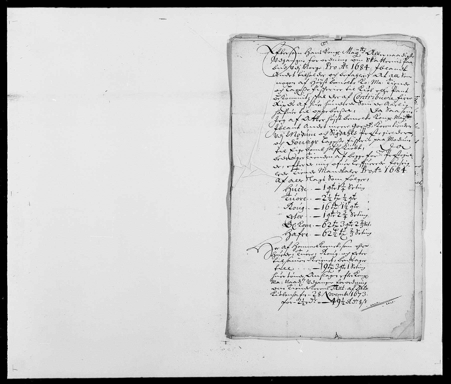 RA, Rentekammeret inntil 1814, Reviderte regnskaper, Fogderegnskap, R25/L1677: Fogderegnskap Buskerud, 1683-1684, s. 337