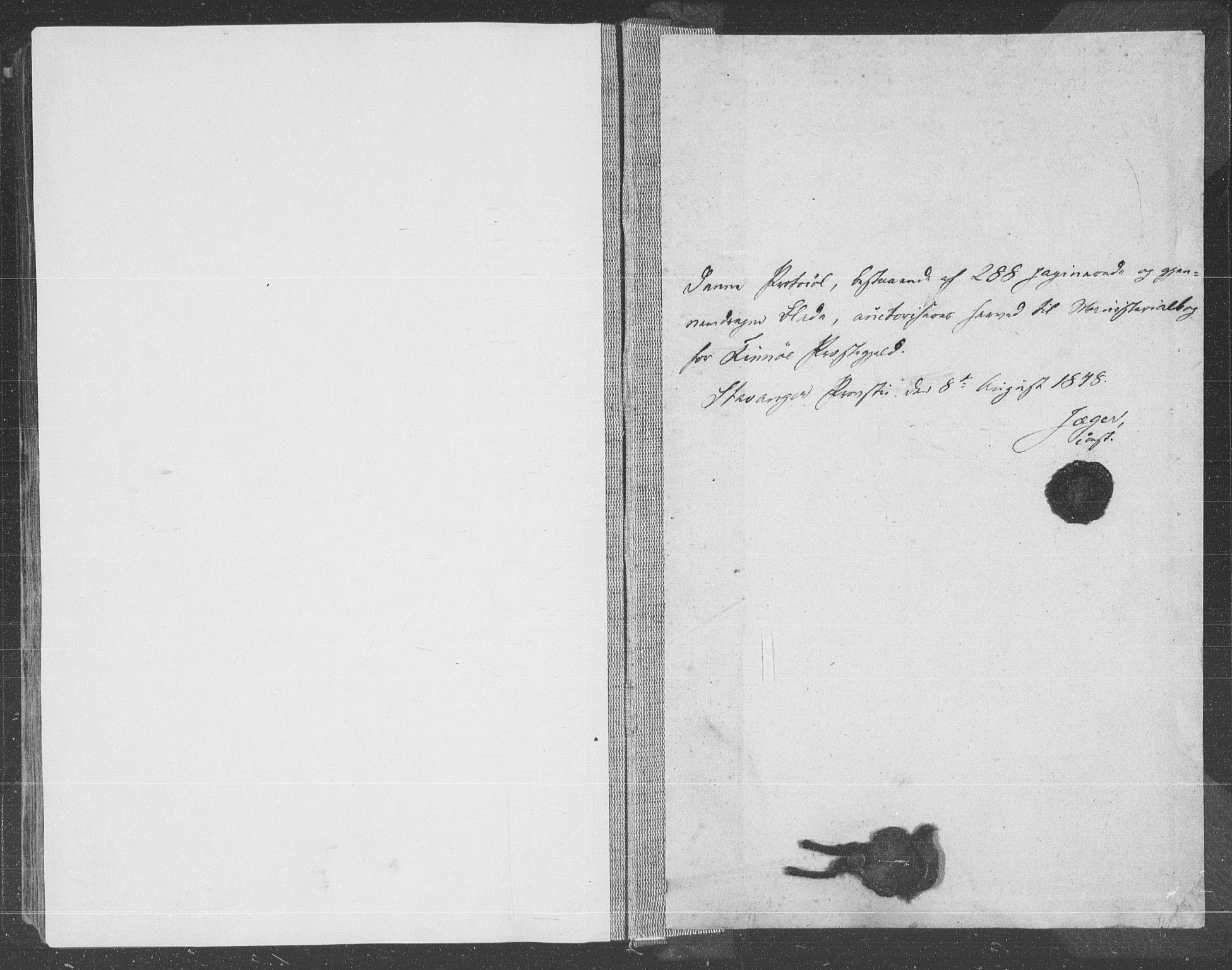 SAST, Finnøy sokneprestkontor, H/Ha/Haa/L0007: Ministerialbok nr. A 7, 1847-1862