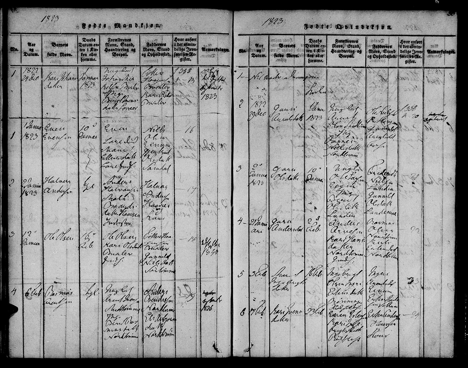 SAT, Ministerialprotokoller, klokkerbøker og fødselsregistre - Sør-Trøndelag, 692/L1102: Ministerialbok nr. 692A02, 1816-1842, s. 35