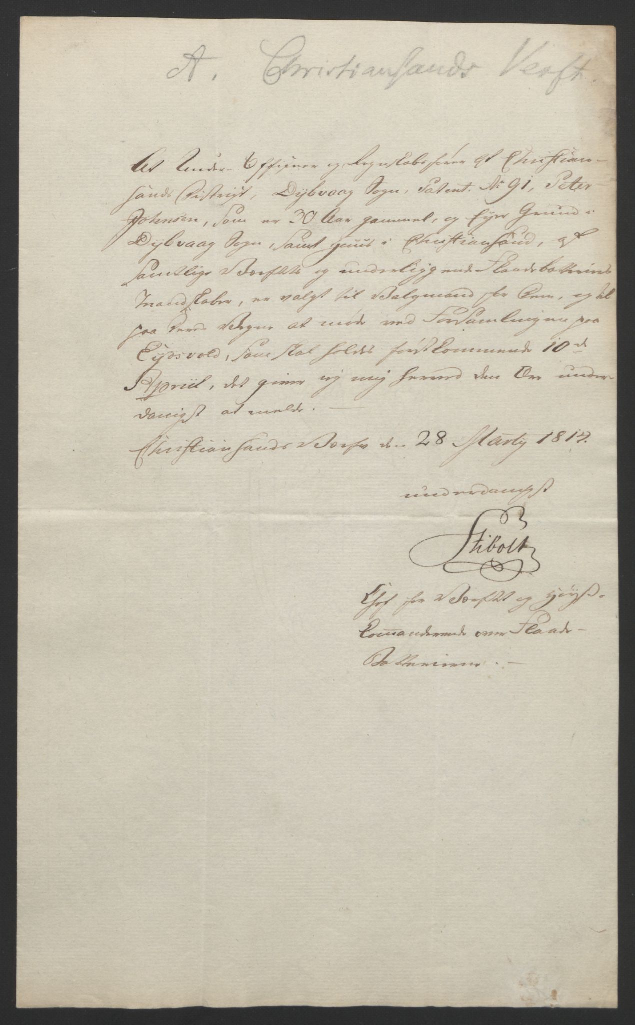 RA, Statsrådssekretariatet, D/Db/L0007: Fullmakter for Eidsvollsrepresentantene i 1814. , 1814, s. 128