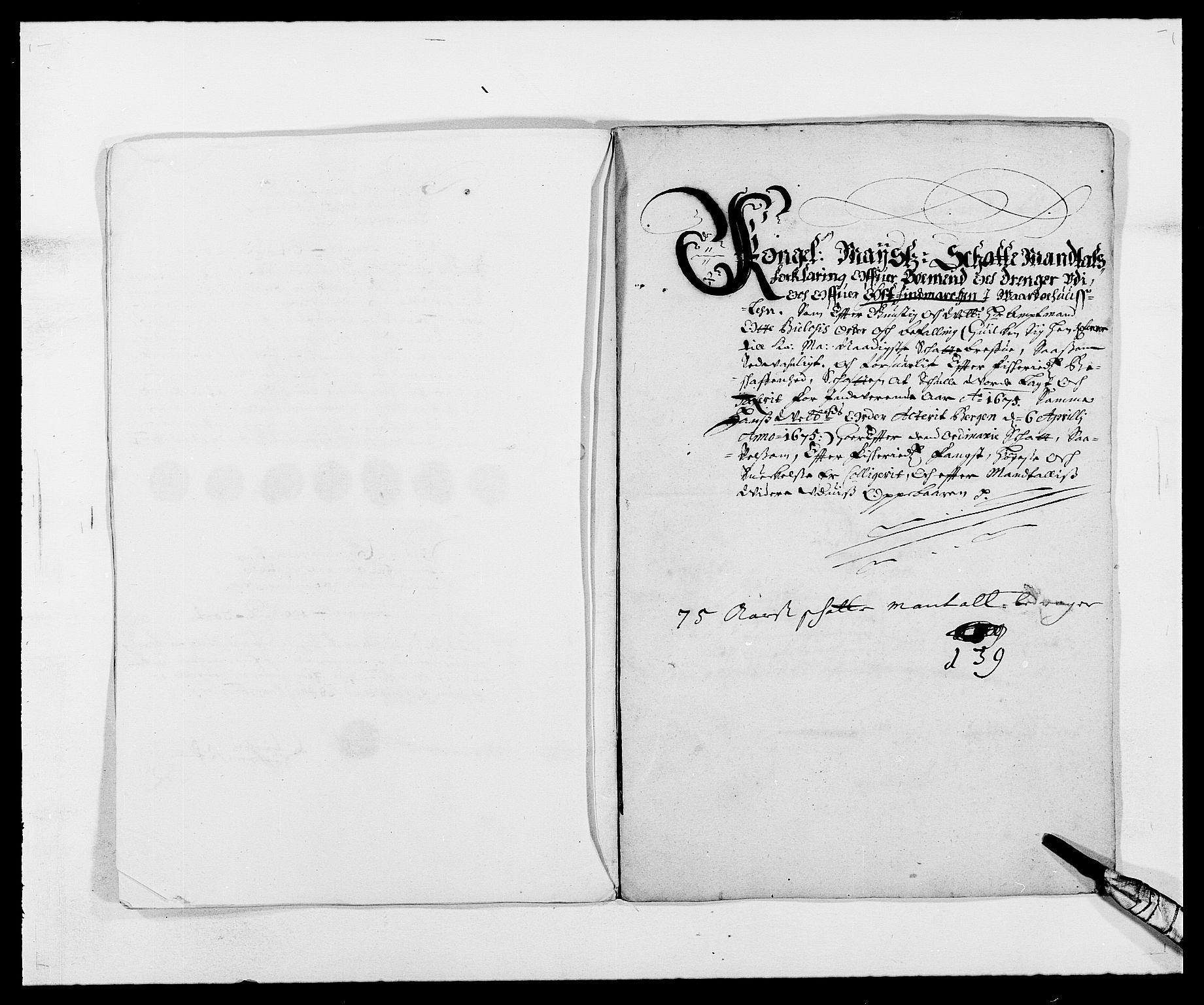 RA, Rentekammeret inntil 1814, Reviderte regnskaper, Fogderegnskap, R69/L4849: Fogderegnskap Finnmark/Vardøhus, 1661-1679, s. 315