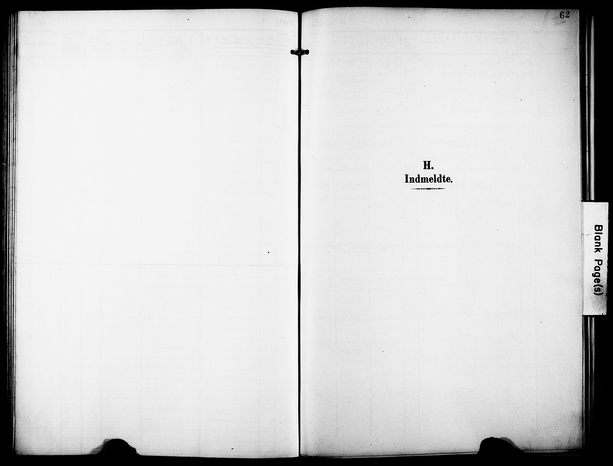 SATØ, Tromsø sokneprestkontor/stiftsprosti/domprosti, G/Ge/L0068: Dissenterprotokoll nr. 68, 1907-1917, s. 62