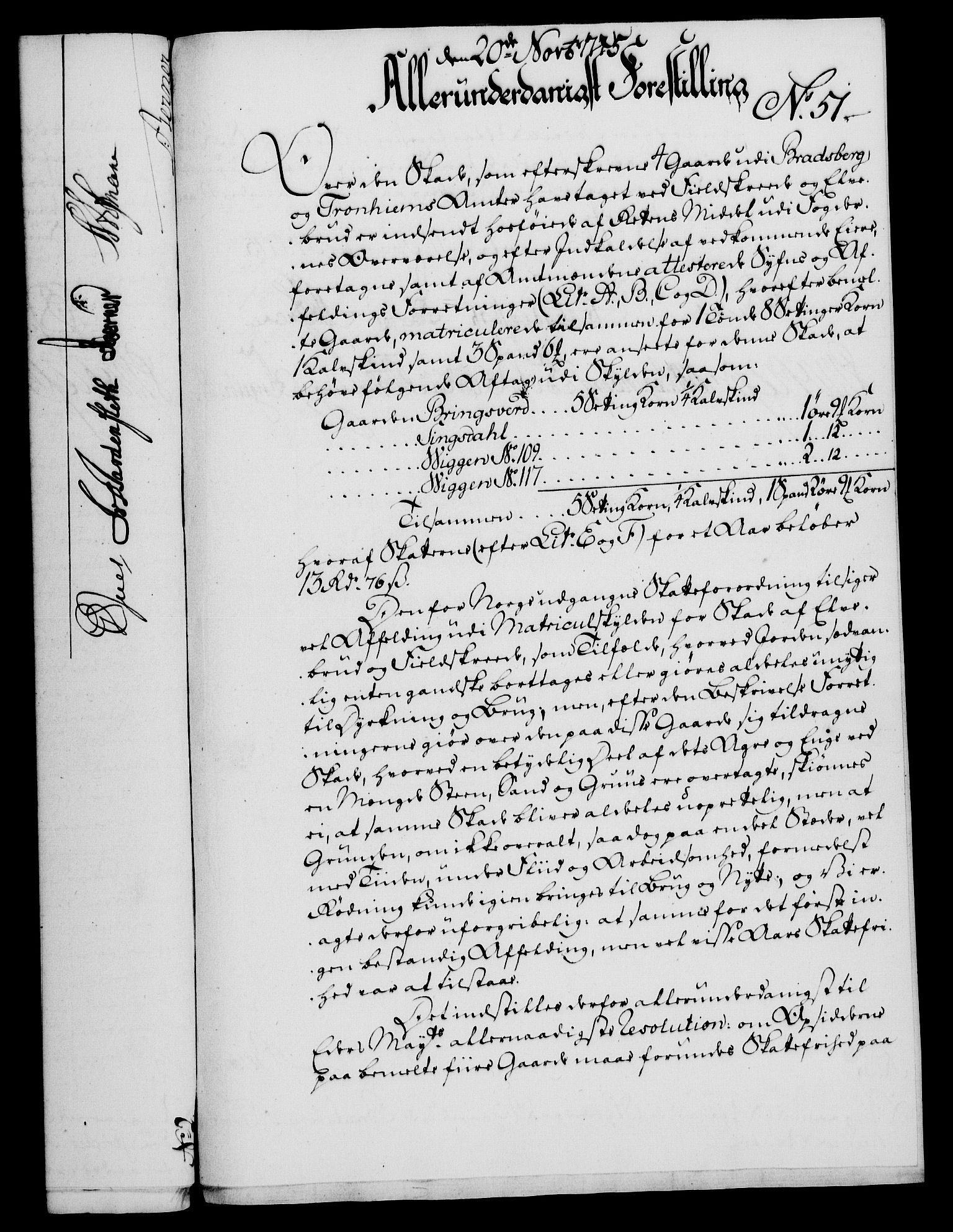 RA, Rentekammeret, Kammerkanselliet, G/Gf/Gfa/L0057: Norsk relasjons- og resolusjonsprotokoll (merket RK 52.57), 1775, s. 202