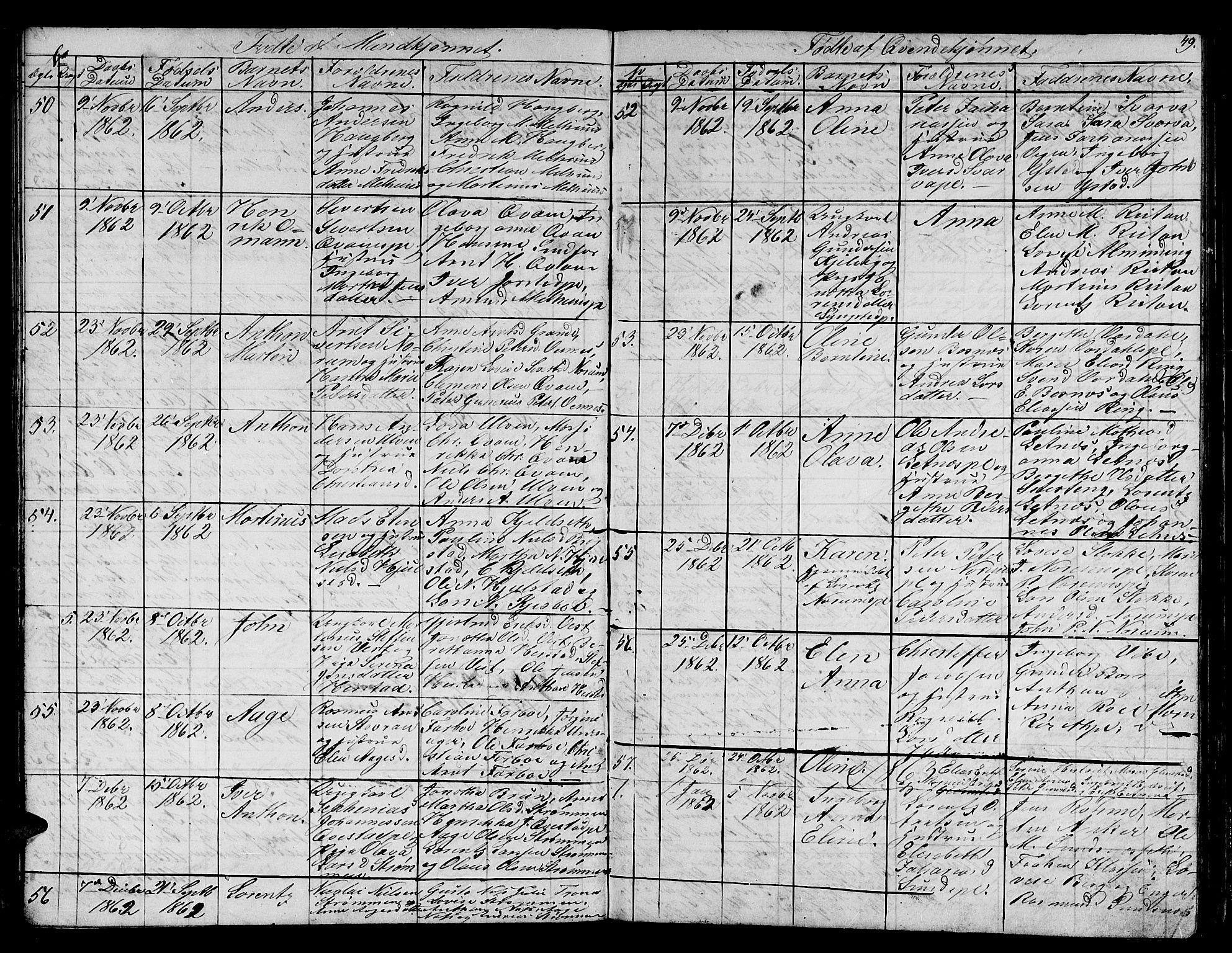 SAT, Ministerialprotokoller, klokkerbøker og fødselsregistre - Nord-Trøndelag, 730/L0299: Klokkerbok nr. 730C02, 1849-1871, s. 79