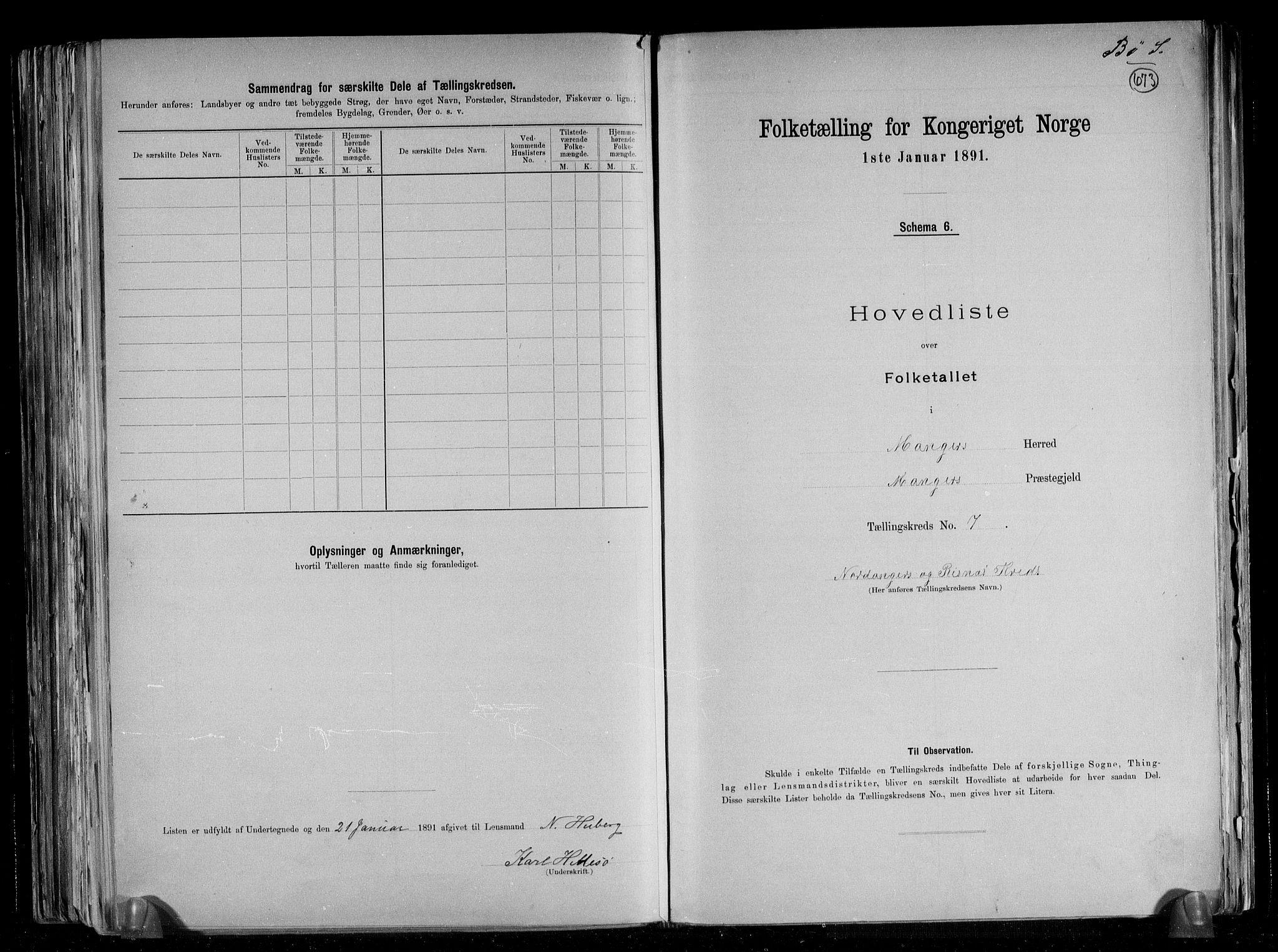 RA, Folketelling 1891 for 1261 Manger herred, 1891, s. 24
