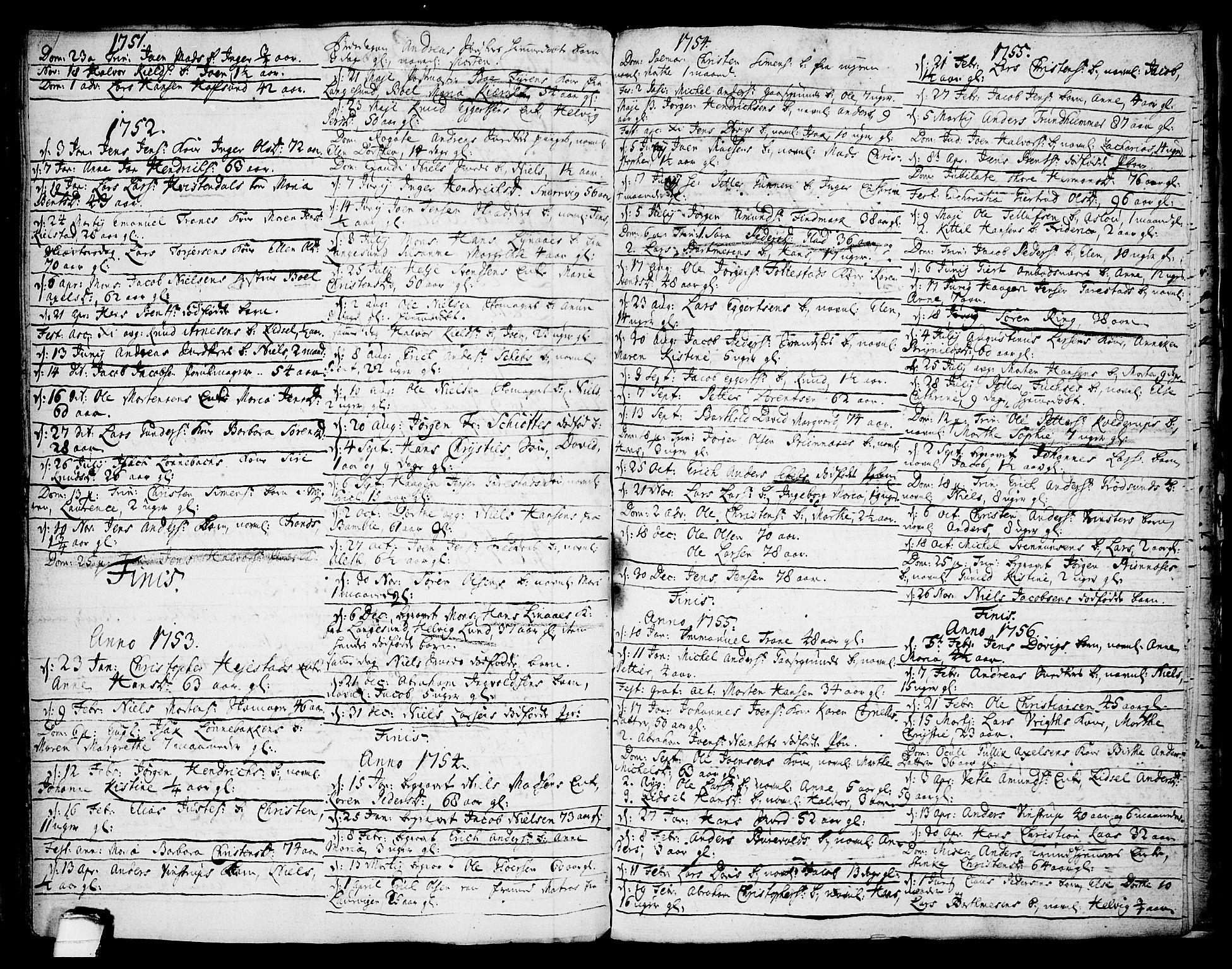 SAKO, Brevik kirkebøker, F/Fa/L0002: Ministerialbok nr. 2, 1720-1764, s. 58d