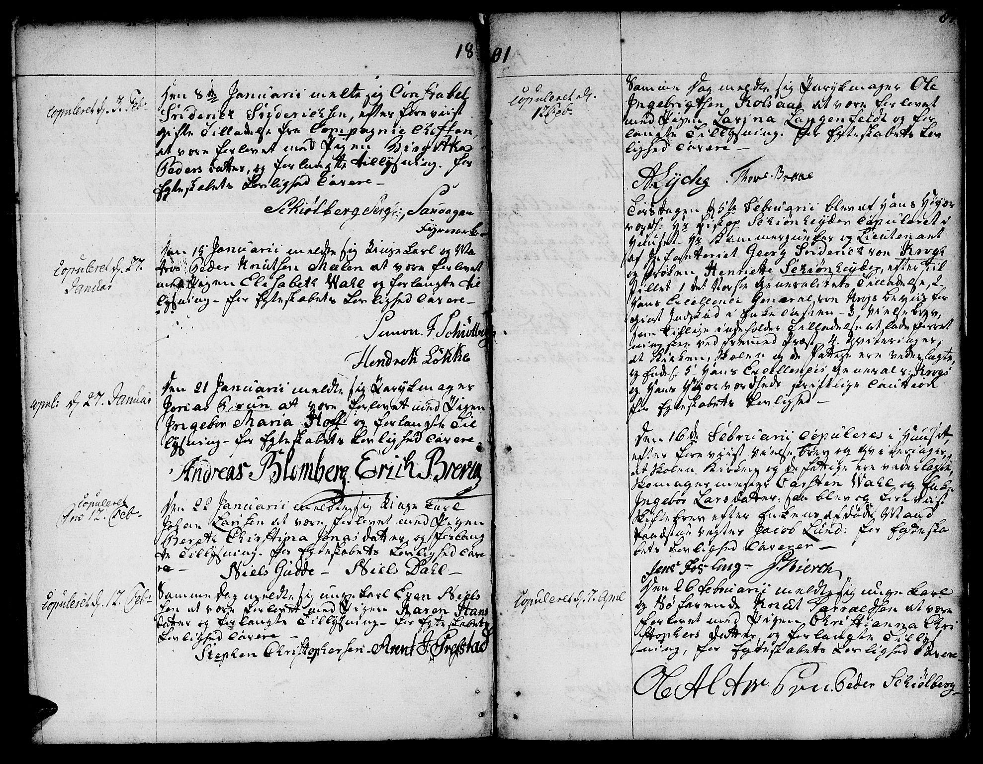 SAT, Ministerialprotokoller, klokkerbøker og fødselsregistre - Sør-Trøndelag, 601/L0041: Ministerialbok nr. 601A09, 1784-1801, s. 87
