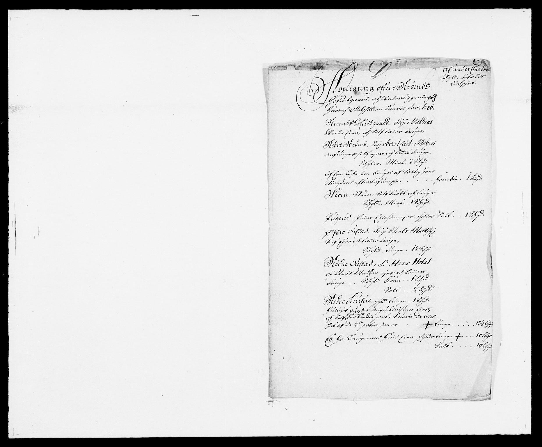 RA, Rentekammeret inntil 1814, Reviderte regnskaper, Fogderegnskap, R32/L1857: Fogderegnskap Jarlsberg grevskap, 1686-1690, s. 251