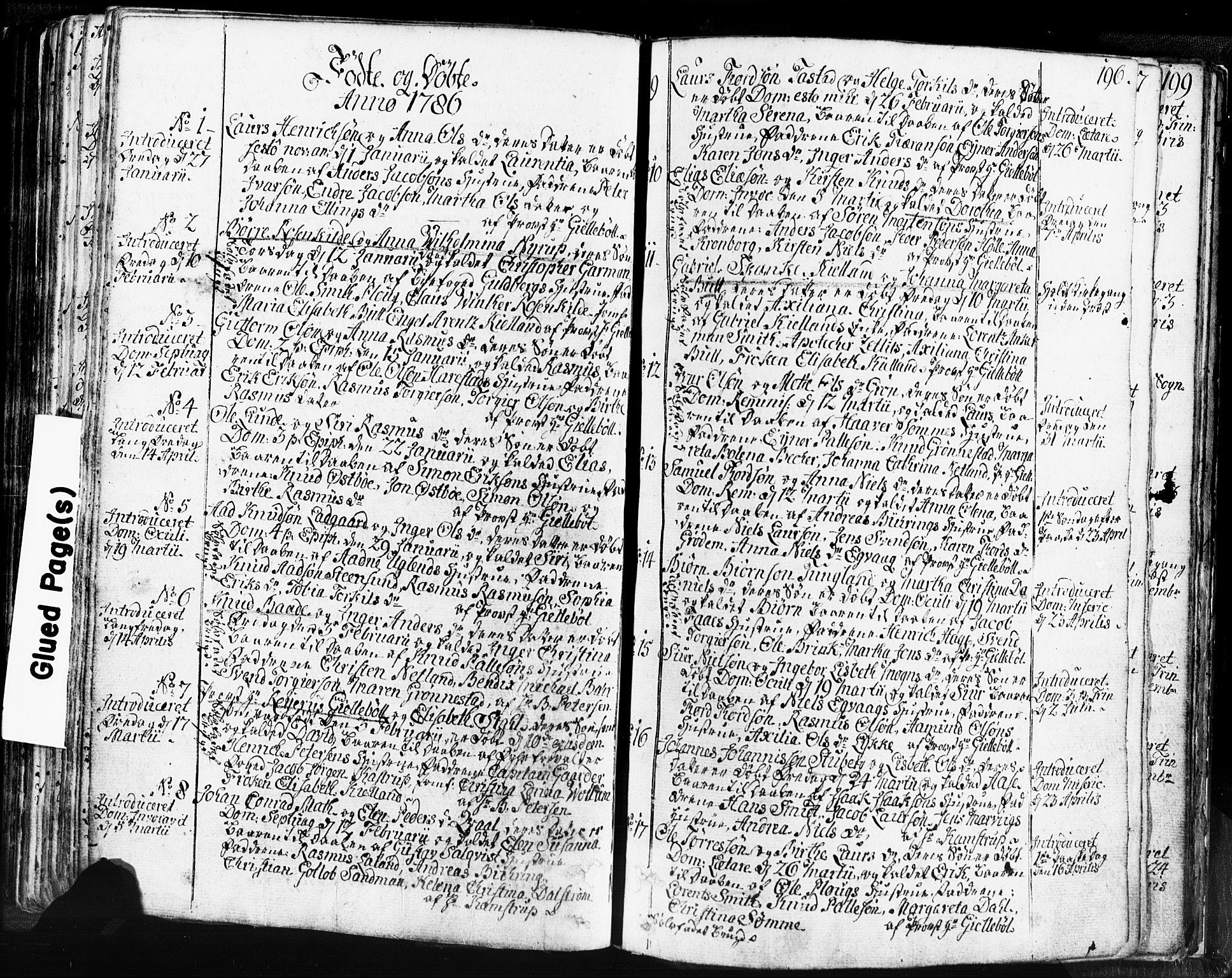 SAST, Domkirken sokneprestkontor, 30/30BB/L0004: Klokkerbok nr. B 4, 1752-1790, s. 196