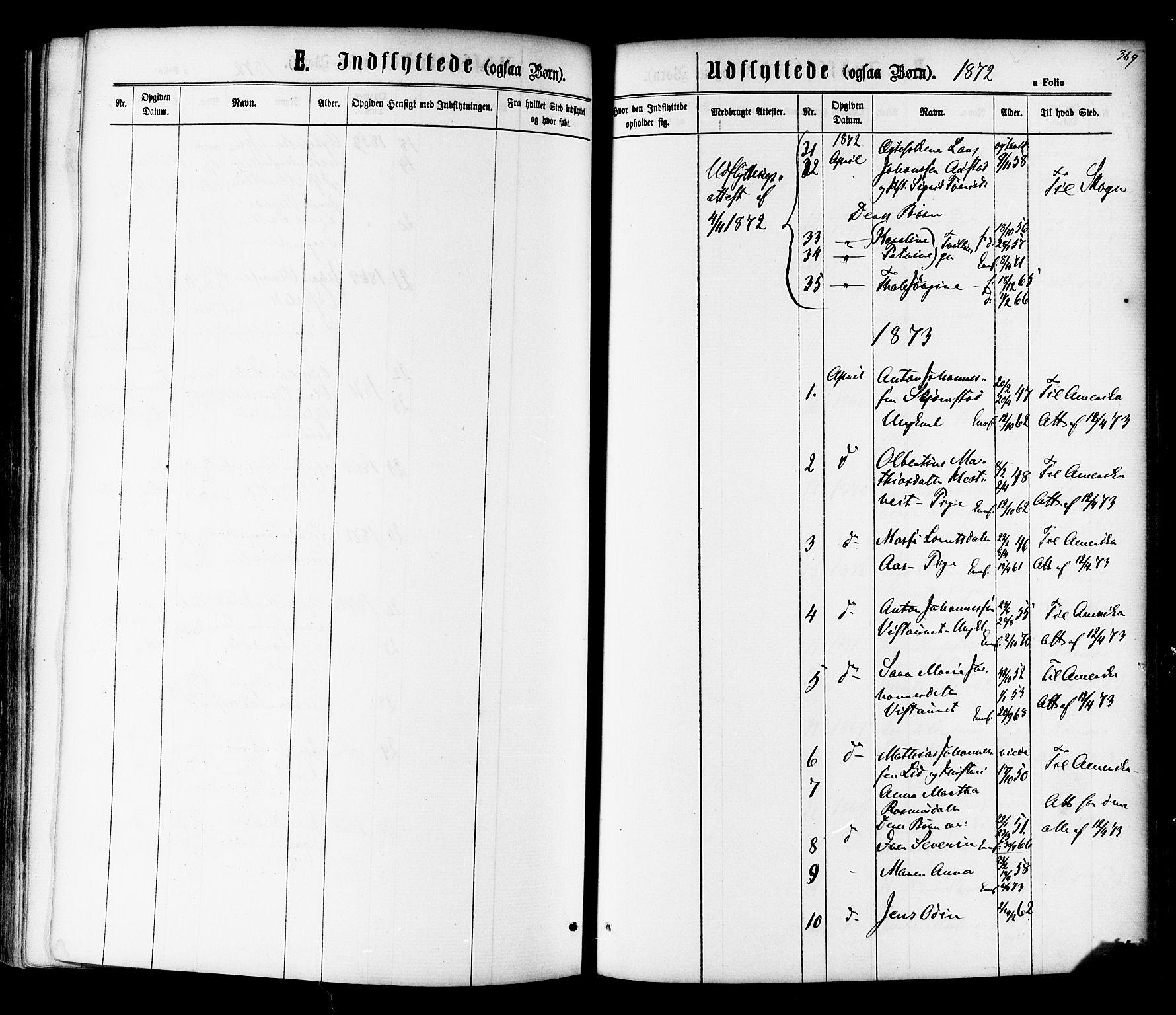 SAT, Ministerialprotokoller, klokkerbøker og fødselsregistre - Nord-Trøndelag, 730/L0284: Ministerialbok nr. 730A09, 1866-1878, s. 369