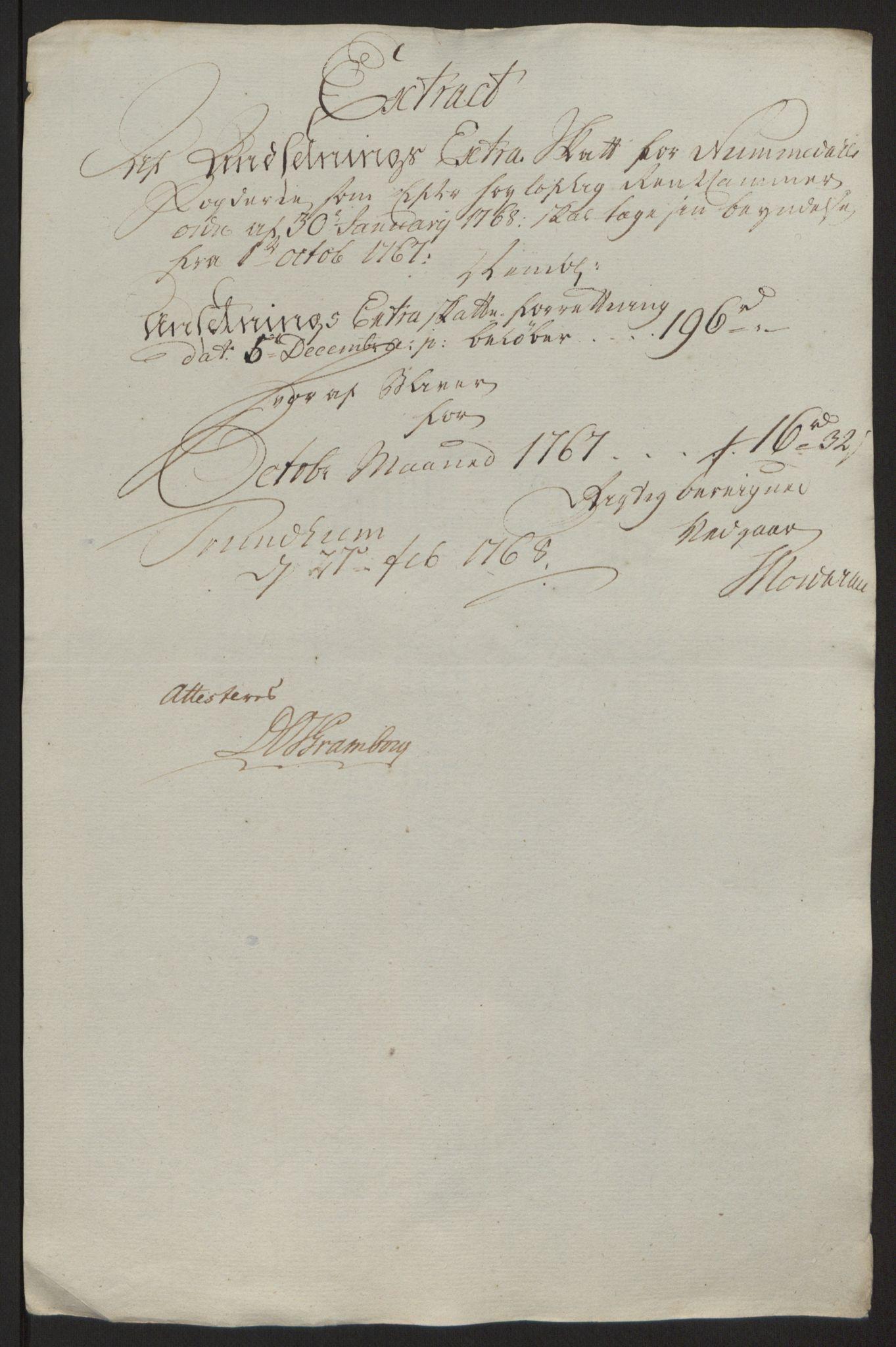 RA, Rentekammeret inntil 1814, Reviderte regnskaper, Fogderegnskap, R64/L4502: Ekstraskatten Namdal, 1762-1772, s. 243