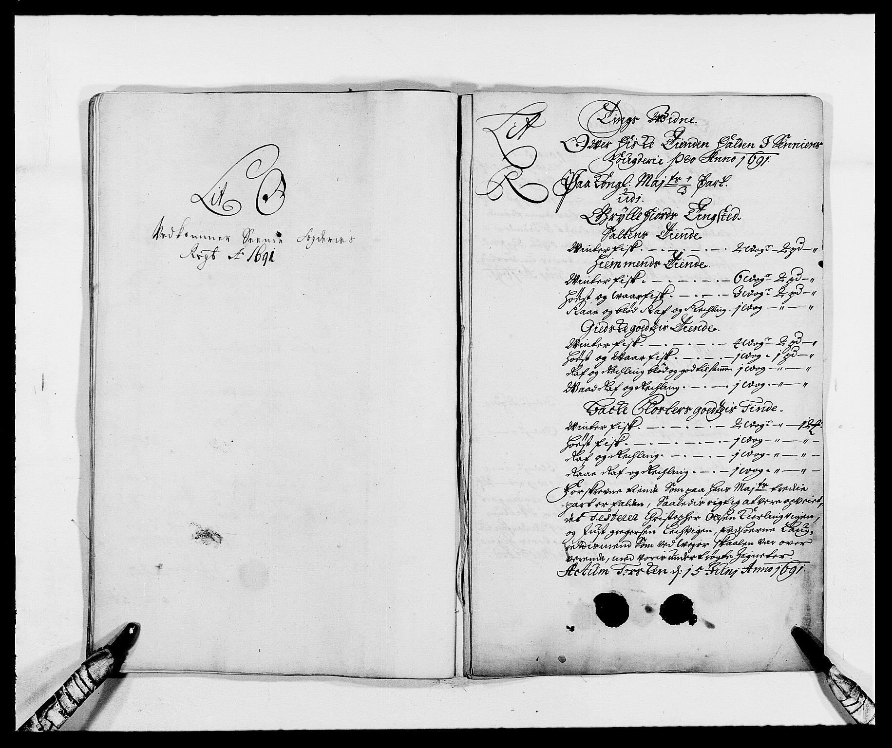 RA, Rentekammeret inntil 1814, Reviderte regnskaper, Fogderegnskap, R68/L4752: Fogderegnskap Senja og Troms, 1691-1693, s. 123