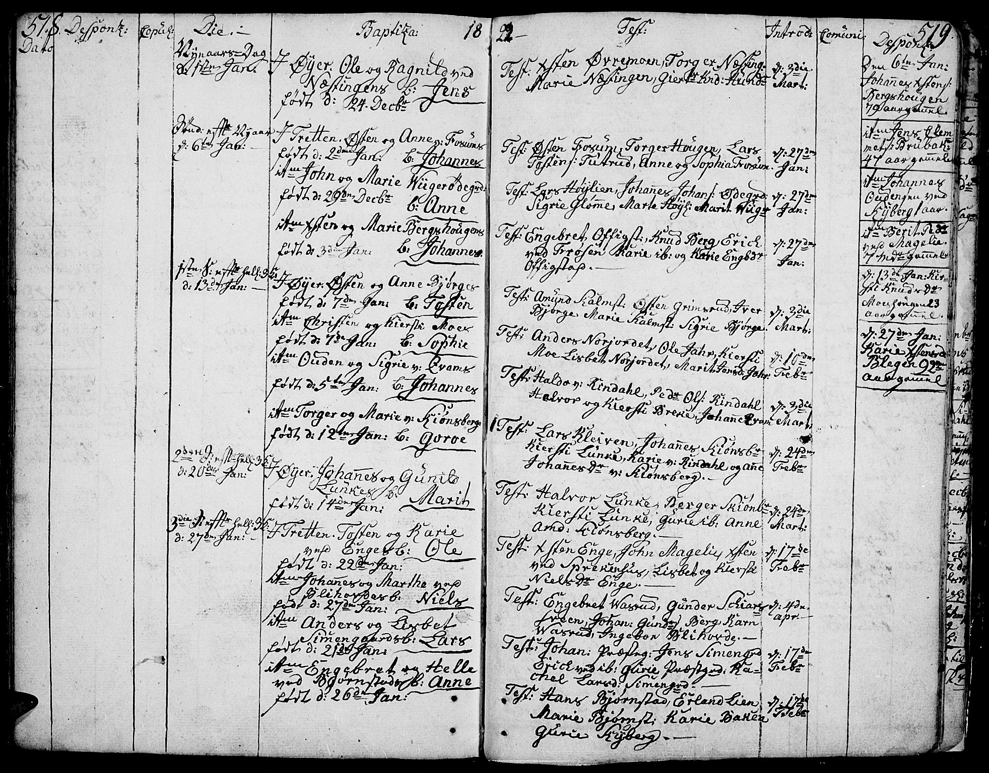 SAH, Øyer prestekontor, Ministerialbok nr. 3, 1784-1824, s. 518-519