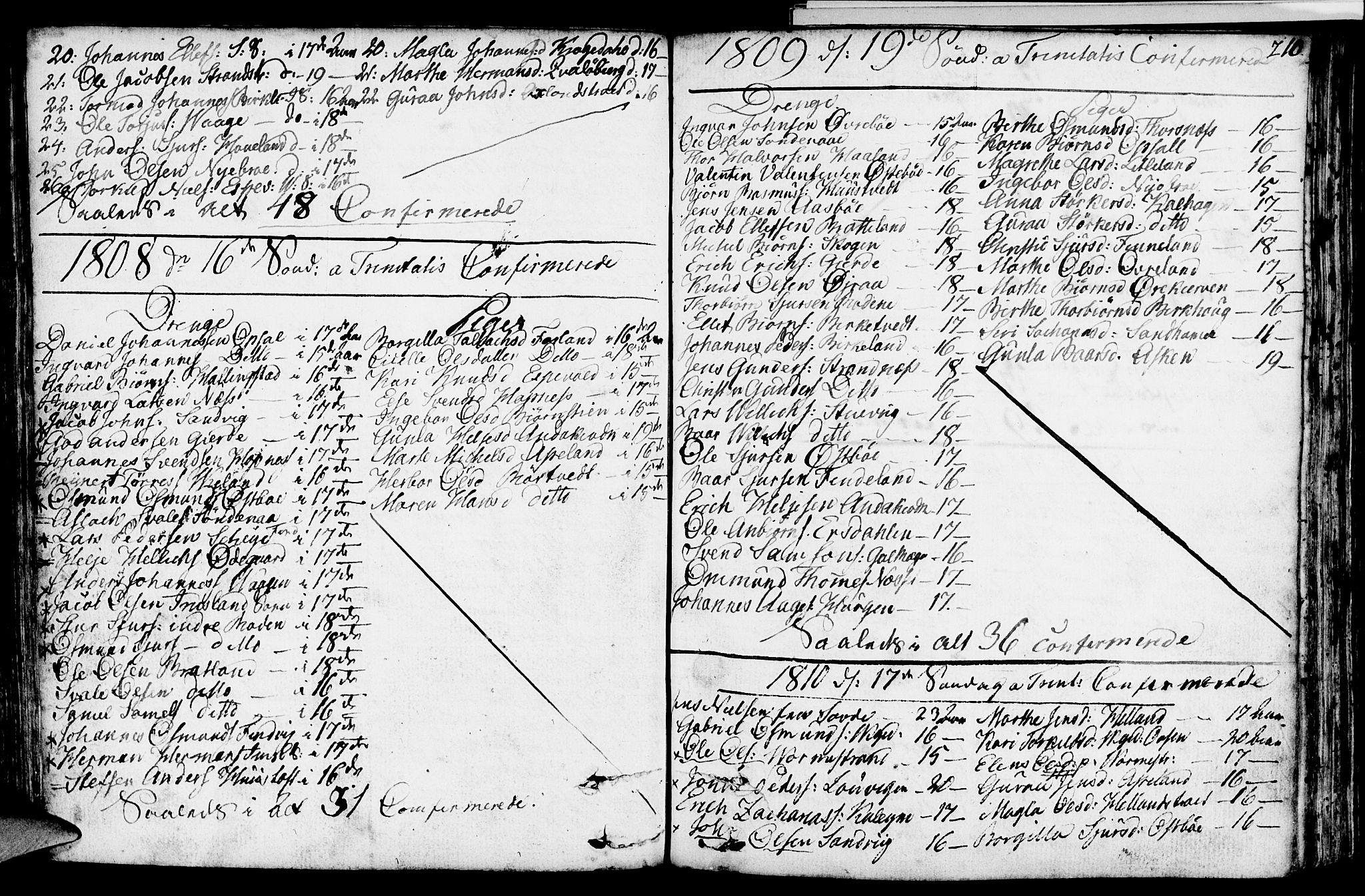 SAST, Vikedal sokneprestkontor, IV: Ministerialbok nr. A 2, 1779-1817, s. 210
