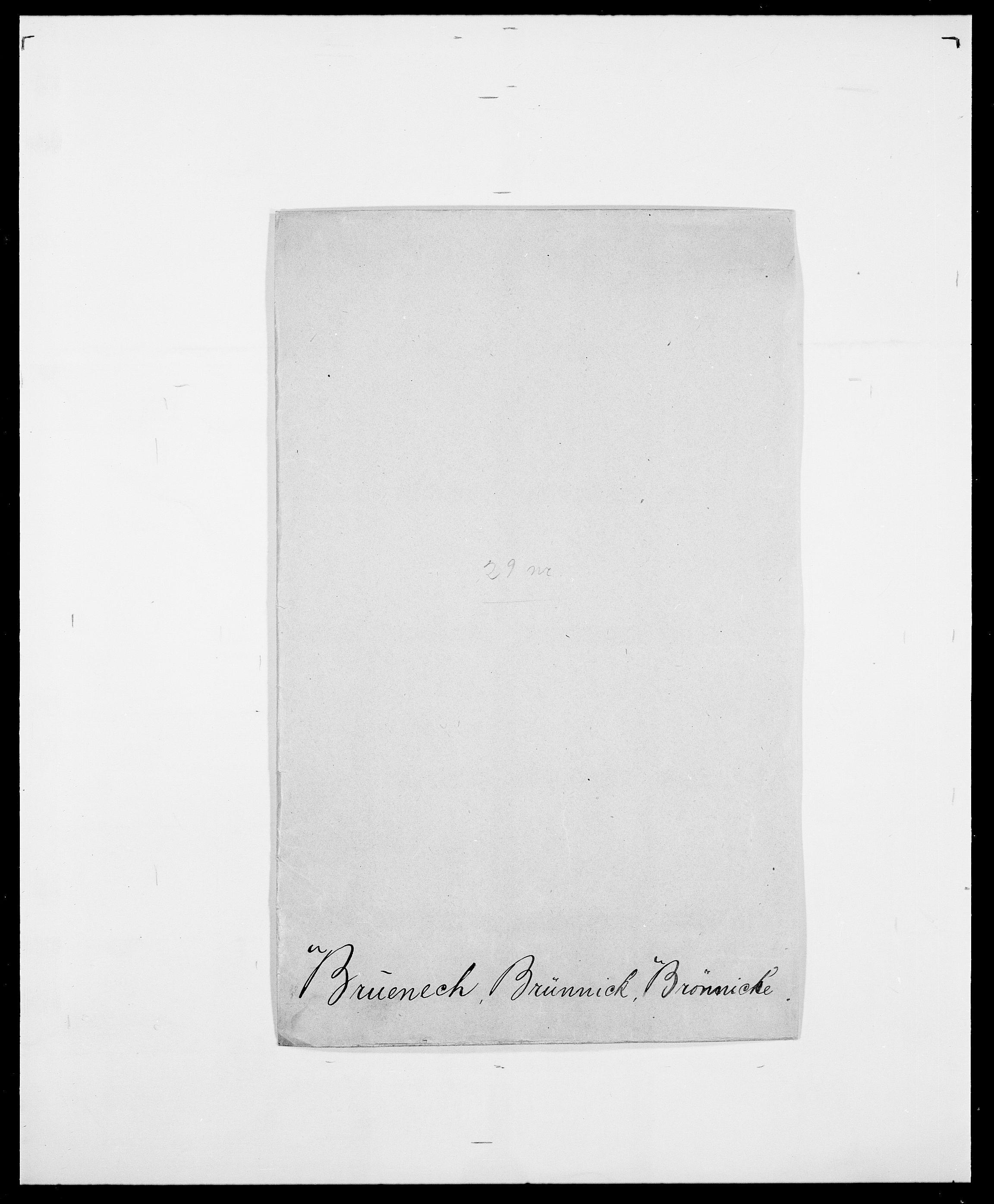 SAO, Delgobe, Charles Antoine - samling, D/Da/L0006: Brambani - Brønø, s. 569
