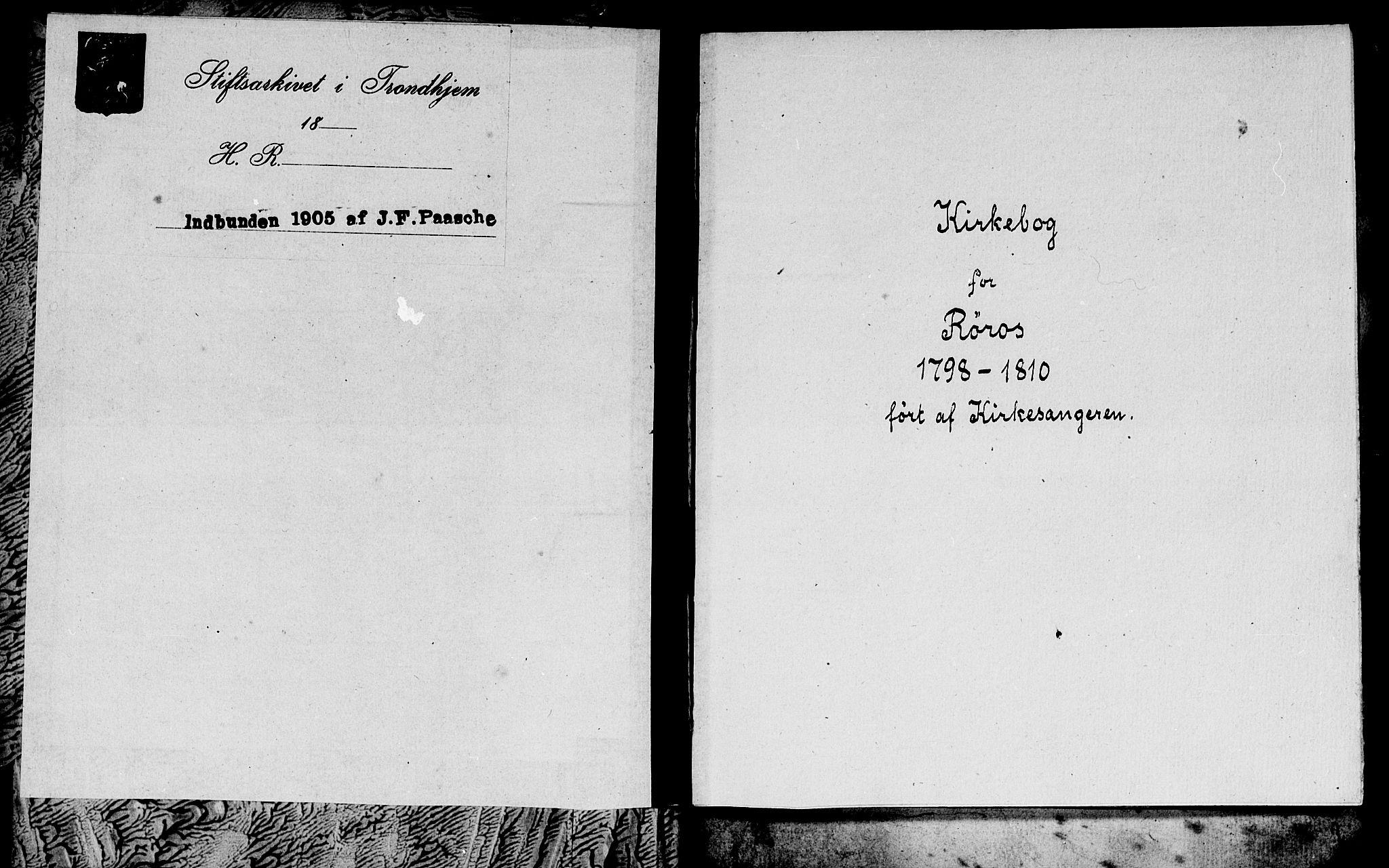 SAT, Ministerialprotokoller, klokkerbøker og fødselsregistre - Sør-Trøndelag, 681/L0937: Klokkerbok nr. 681C01, 1798-1810