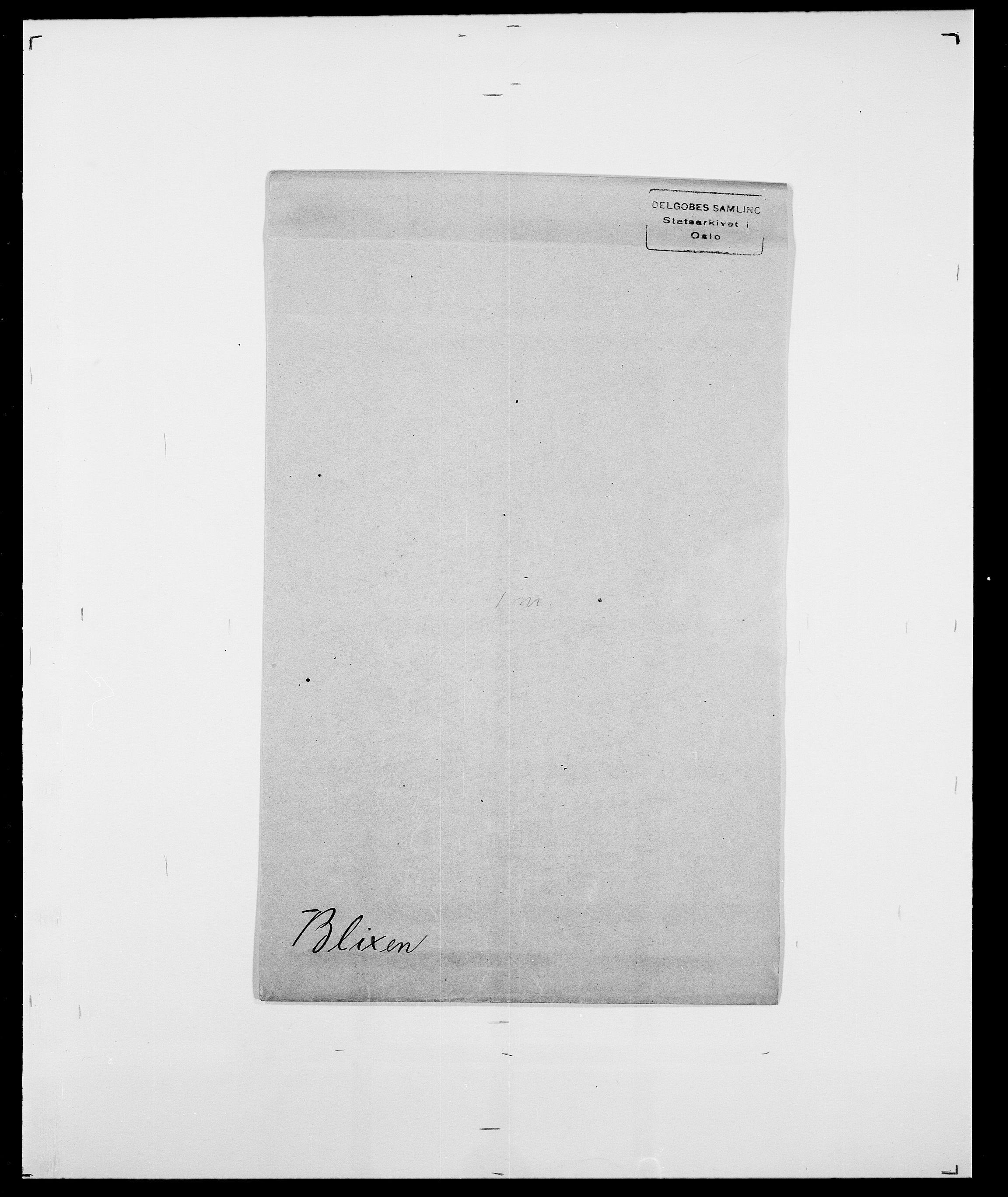 SAO, Delgobe, Charles Antoine - samling, D/Da/L0004: Bergendahl - Blære, s. 646