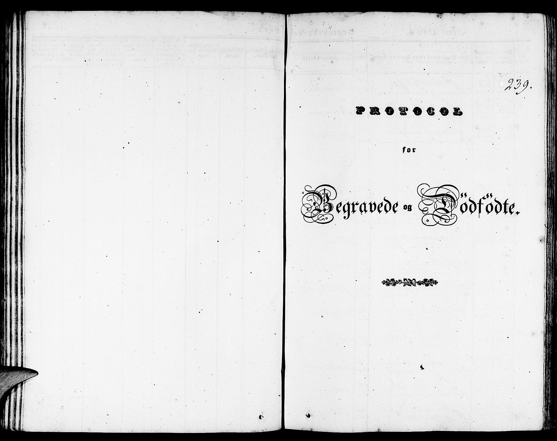 SAB, Gulen Sokneprestembete, Ministerialbok nr. A 20, 1837-1847, s. 239