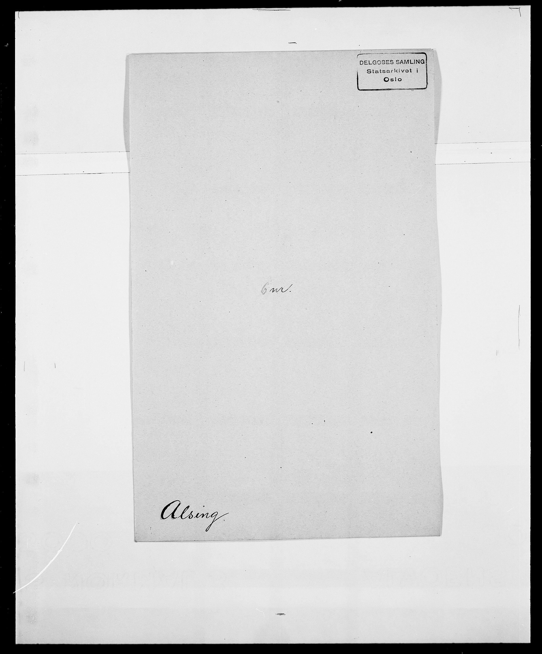 SAO, Delgobe, Charles Antoine - samling, D/Da/L0001: Aabye - Angerman, s. 458