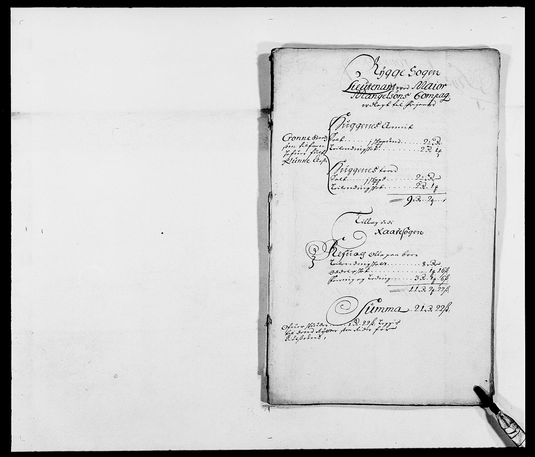 RA, Rentekammeret inntil 1814, Reviderte regnskaper, Fogderegnskap, R02/L0102: Fogderegnskap Moss og Verne kloster, 1675-1681, s. 315