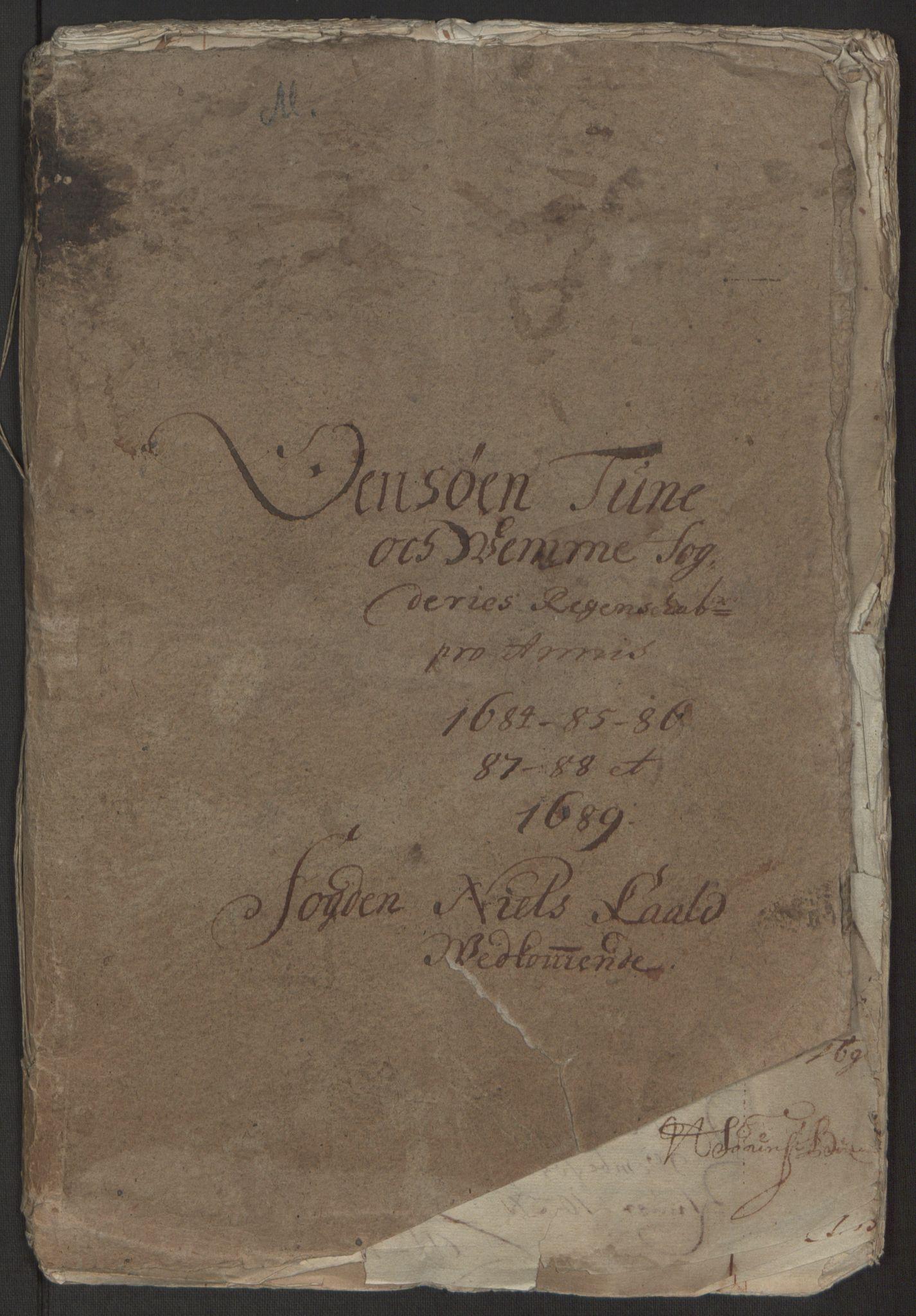RA, Rentekammeret inntil 1814, Reviderte regnskaper, Fogderegnskap, R03/L0118: Fogderegnskap Onsøy, Tune, Veme og Åbygge fogderi, 1684-1689, s. 59