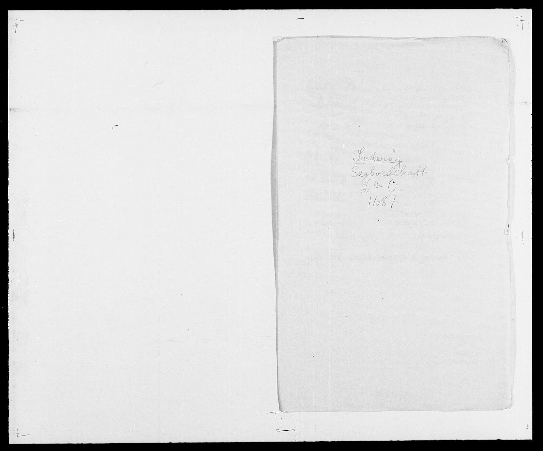RA, Rentekammeret inntil 1814, Reviderte regnskaper, Fogderegnskap, R63/L4306: Fogderegnskap Inderøy, 1687-1689, s. 81