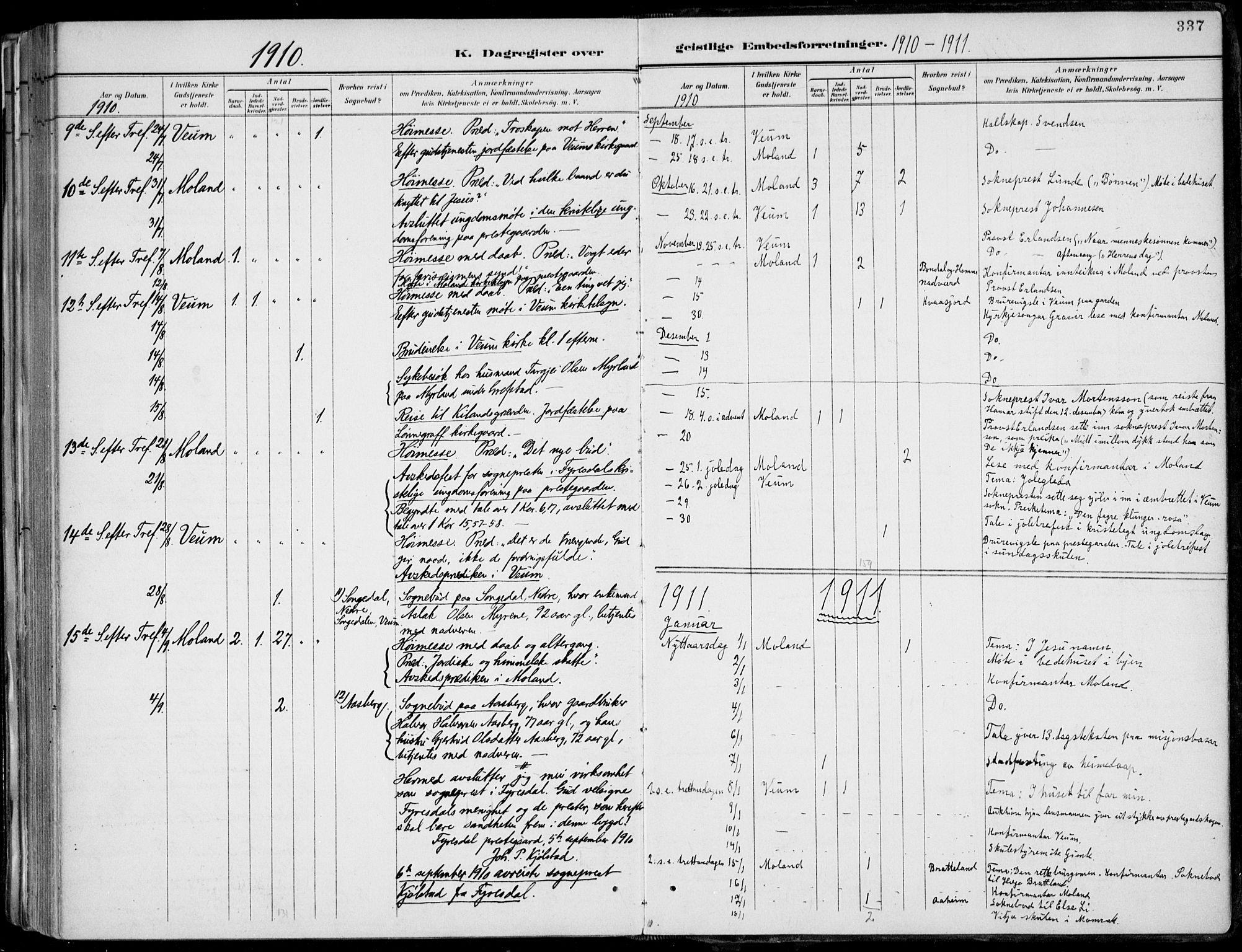 SAKO, Fyresdal kirkebøker, F/Fa/L0007: Ministerialbok nr. I 7, 1887-1914, s. 337
