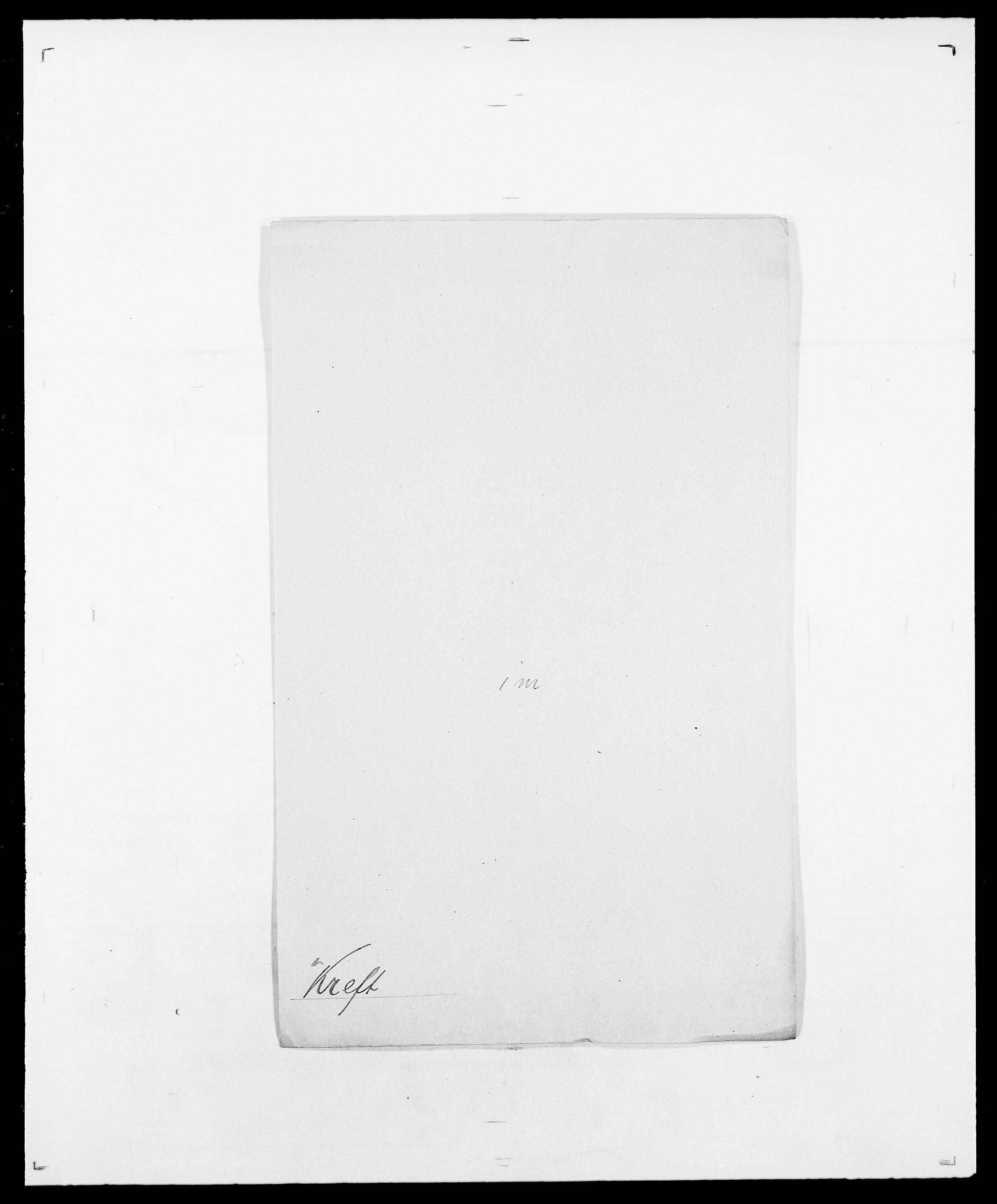 SAO, Delgobe, Charles Antoine - samling, D/Da/L0021: Klagenberg - Kristoft, s. 747