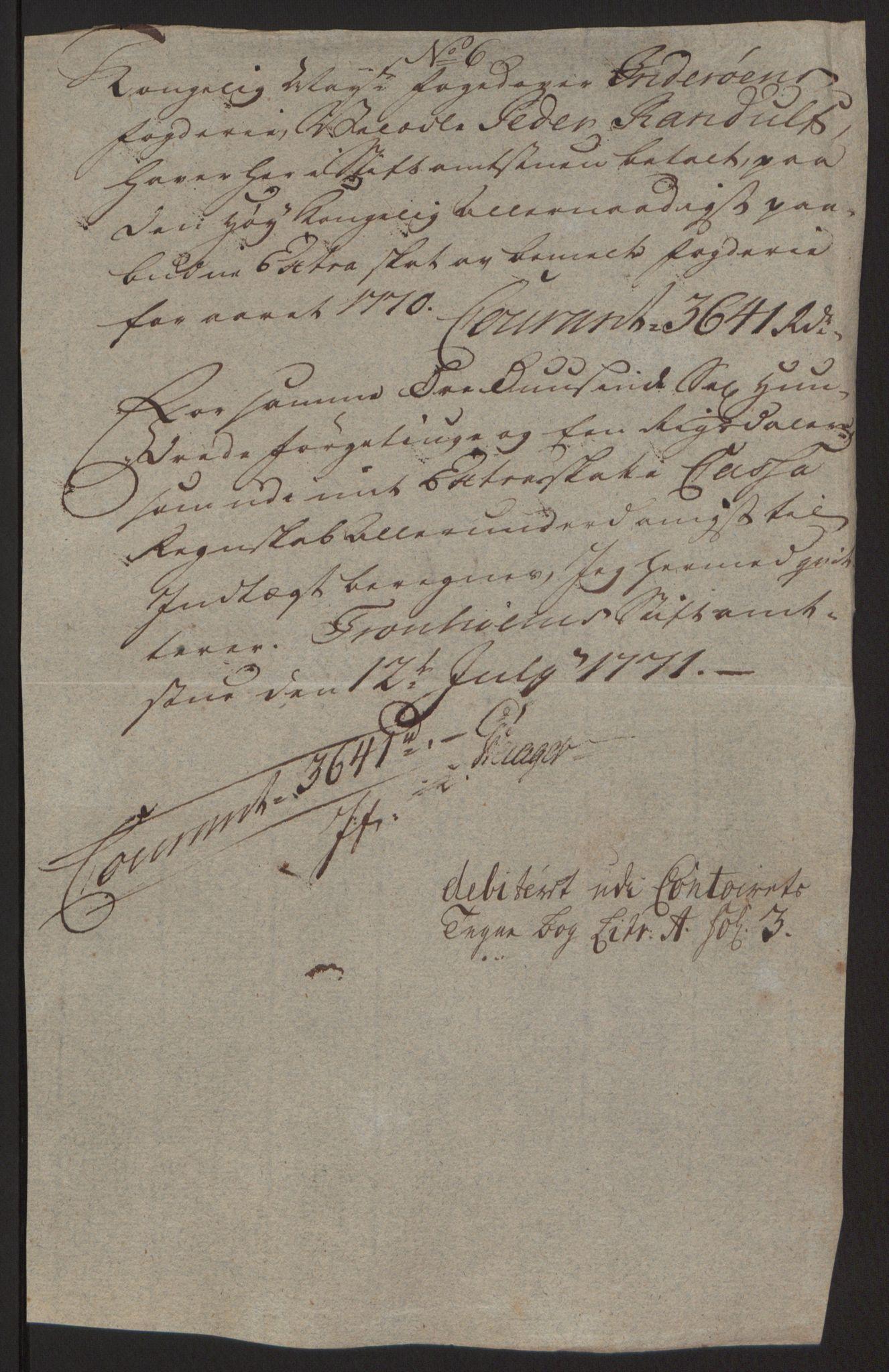 RA, Rentekammeret inntil 1814, Reviderte regnskaper, Fogderegnskap, R63/L4420: Ekstraskatten Inderøy, 1762-1772, s. 400